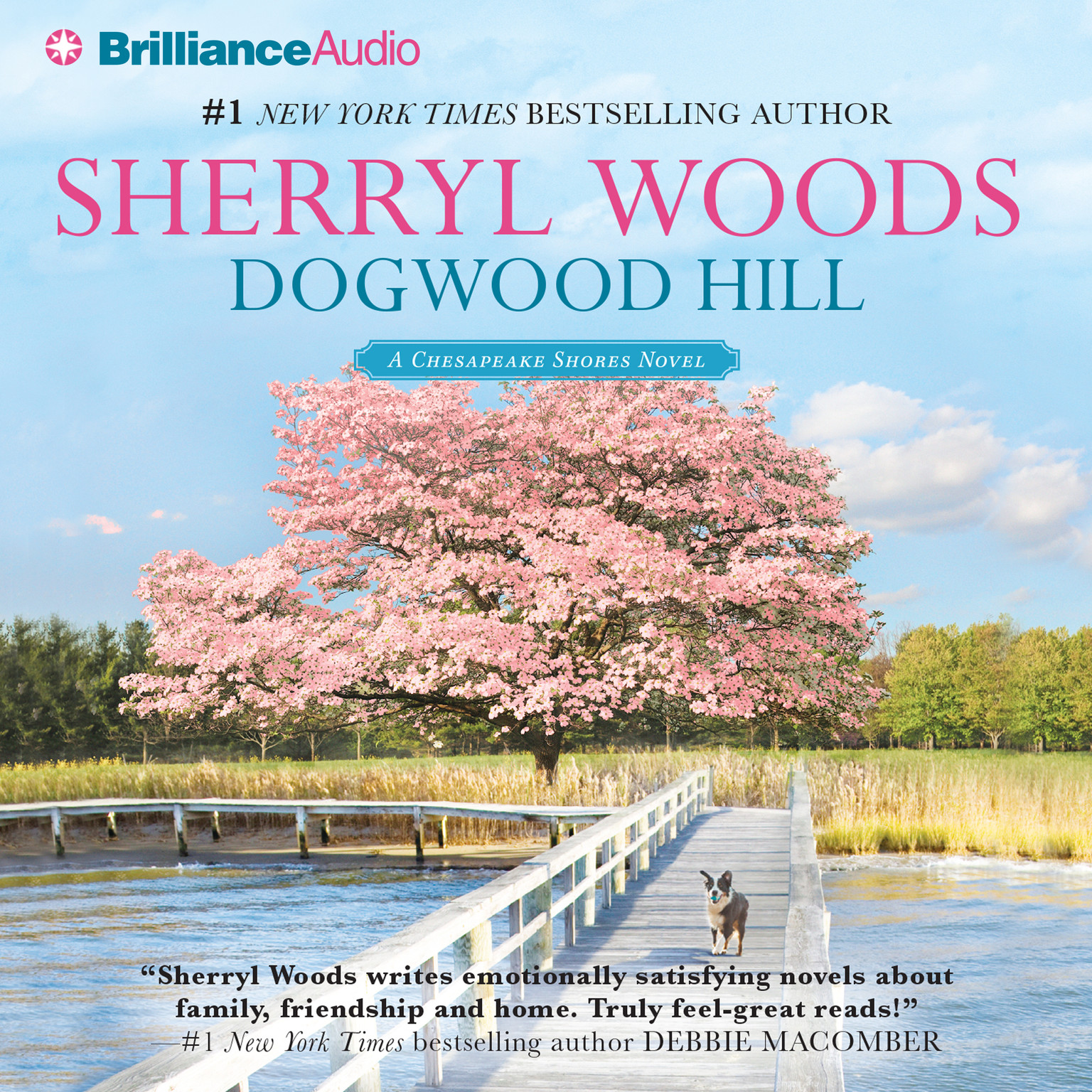 Printable Dogwood Hill Audiobook Cover Art