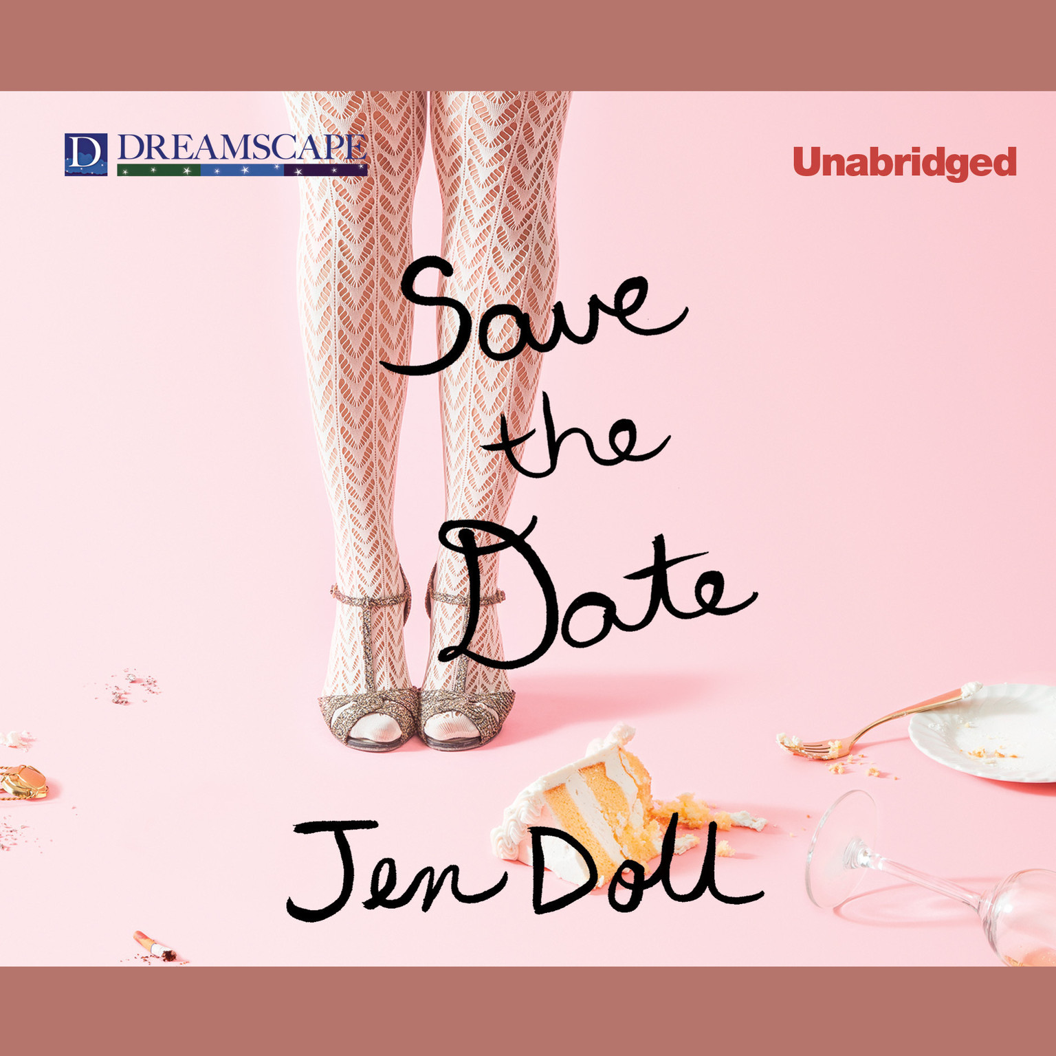 Printable Save the Date: The Occasional Mortifications of a Serial Wedding Guest Audiobook Cover Art