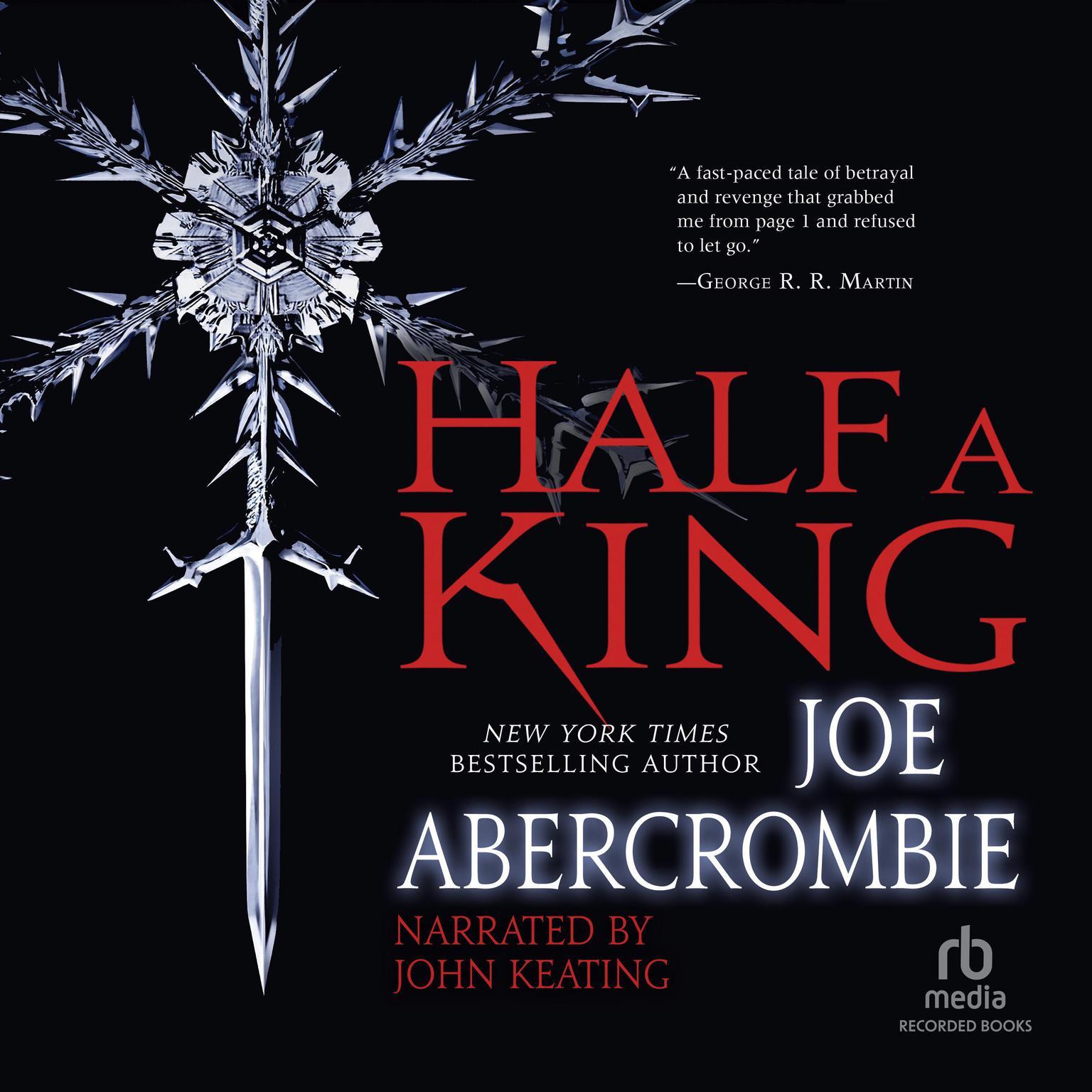 Printable Half a King Audiobook Cover Art