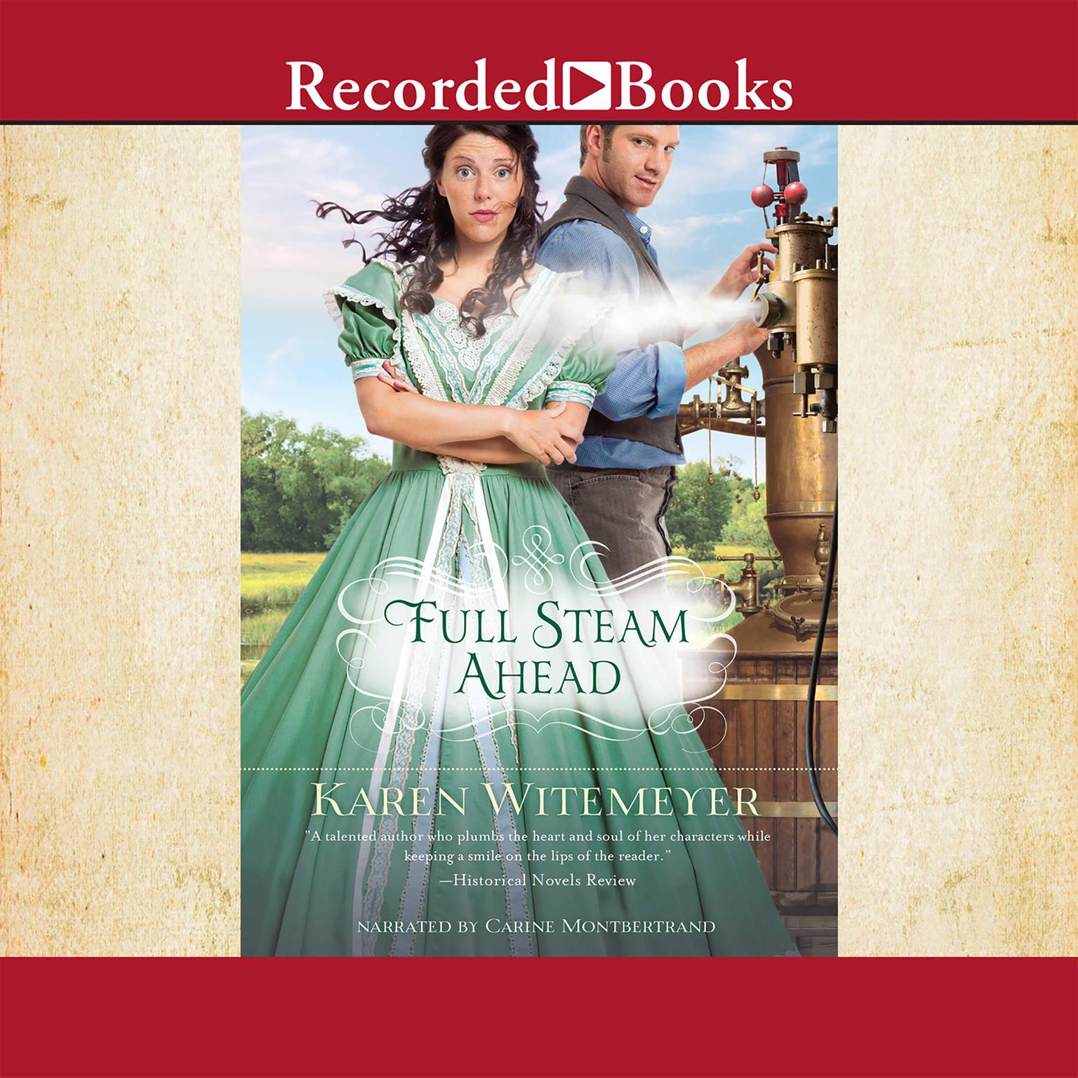 Printable Full Steam Ahead Audiobook Cover Art
