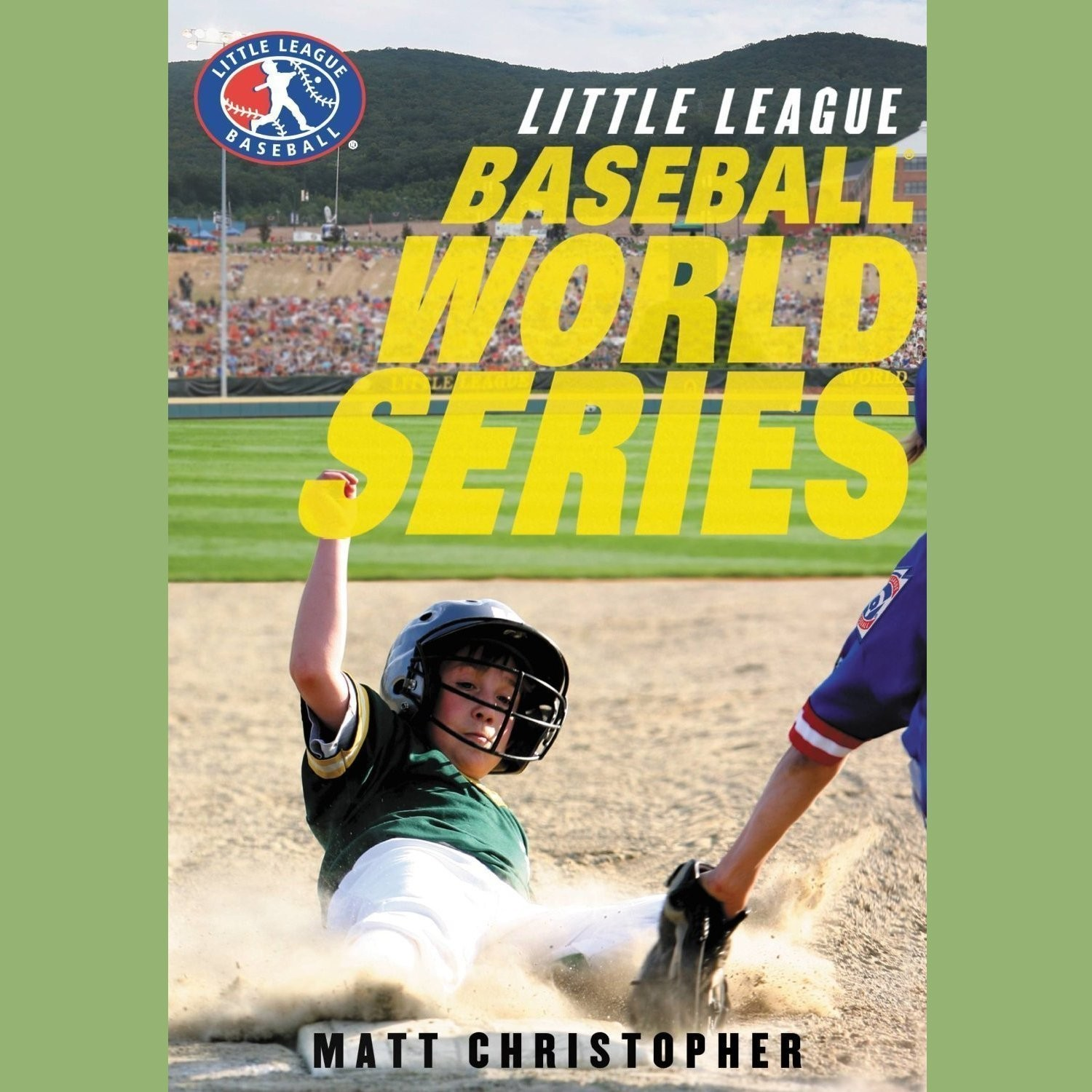 Printable Baseball World Series Audiobook Cover Art