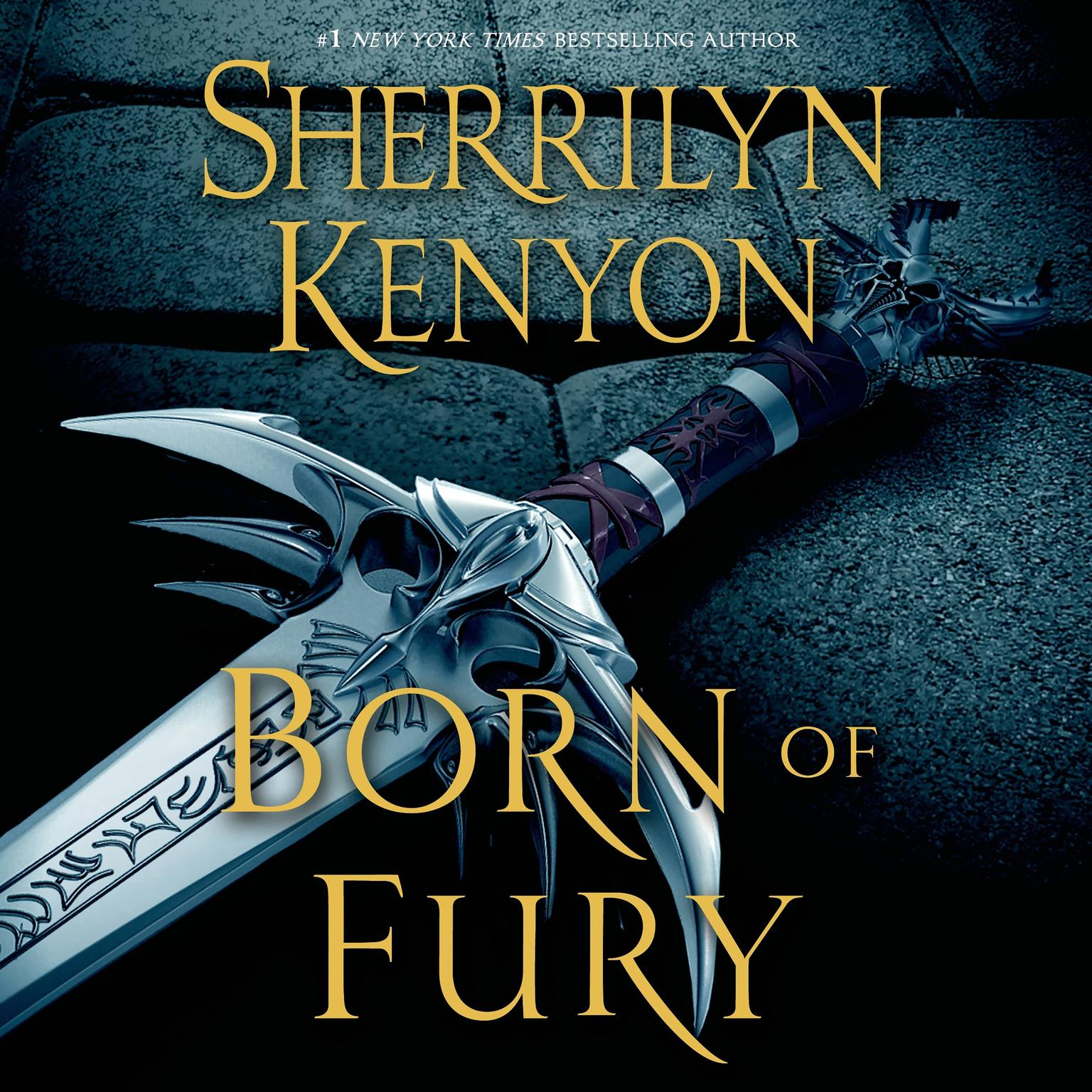 Printable Born of Fury: The League: Nemesis Rising Audiobook Cover Art