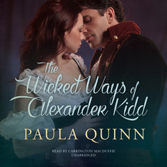 The Wicked Ways of Alexander Kidd Audiobook, by Paula Quinn
