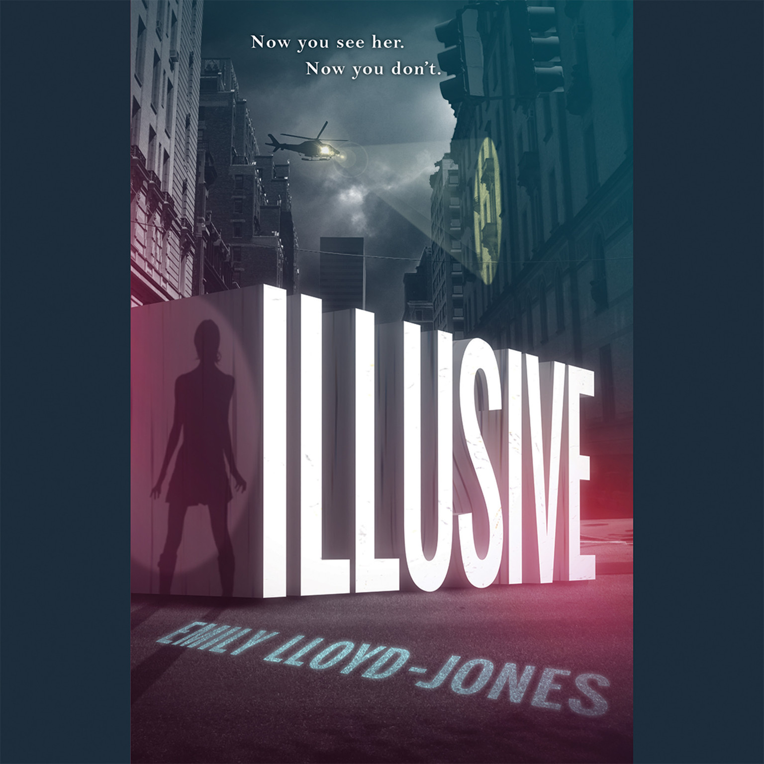 Printable Illusive Audiobook Cover Art