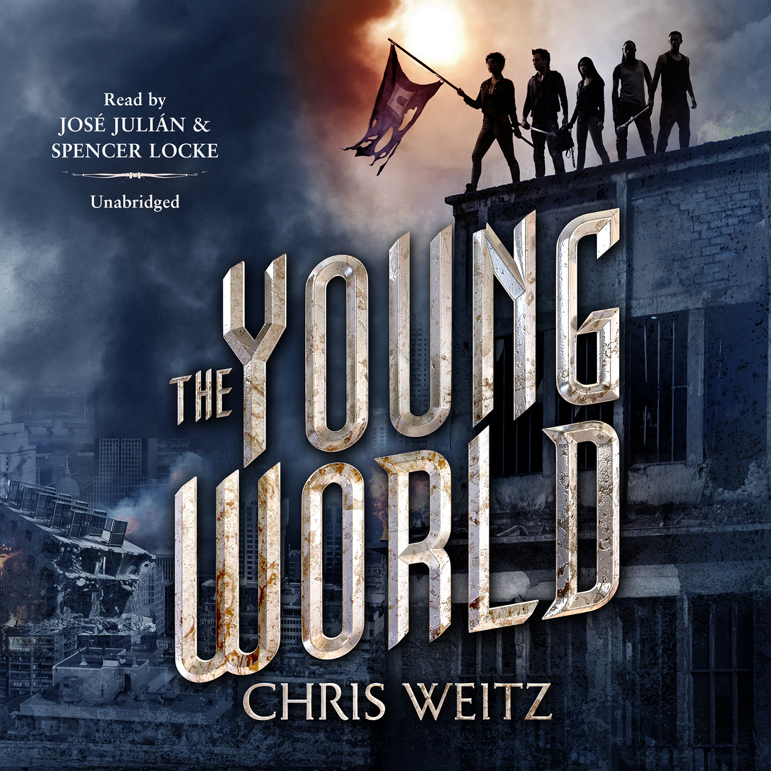 Printable The Young World Audiobook Cover Art