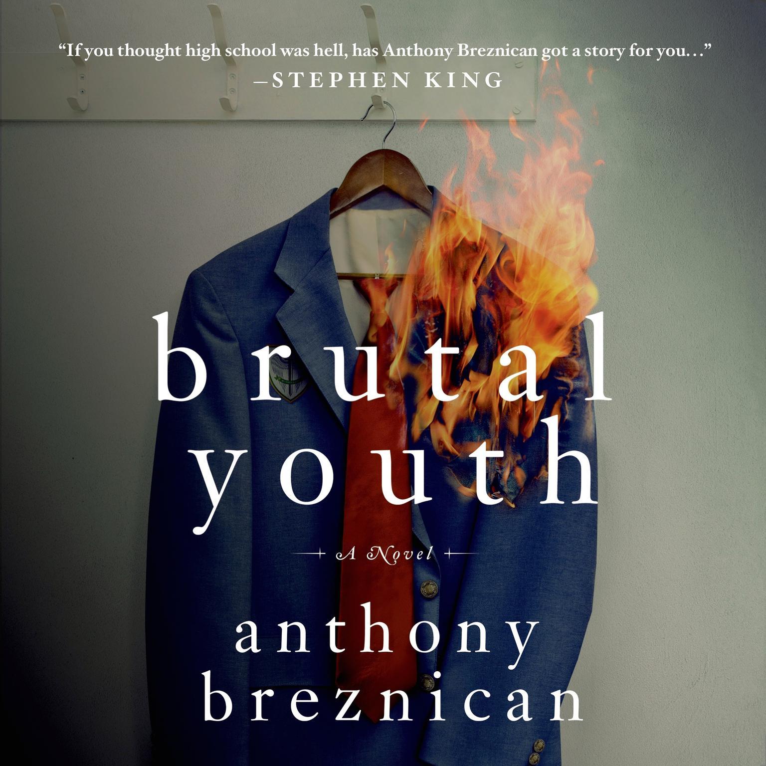 Printable Brutal Youth: A Novel Audiobook Cover Art
