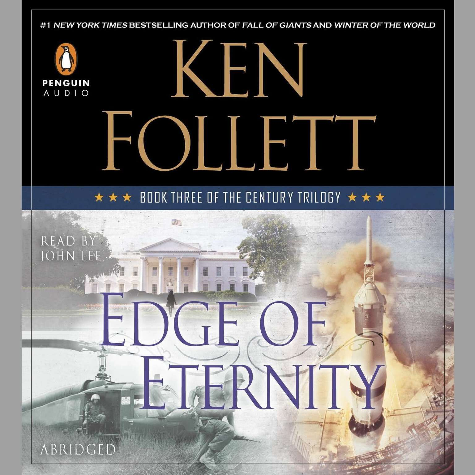 Printable Edge of Eternity: Book Three of The Century Trilogy Audiobook Cover Art