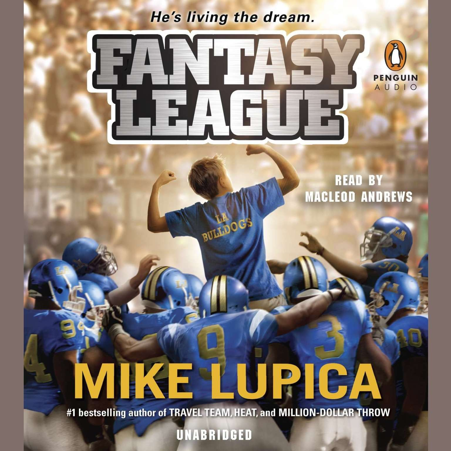 Printable Fantasy League Audiobook Cover Art