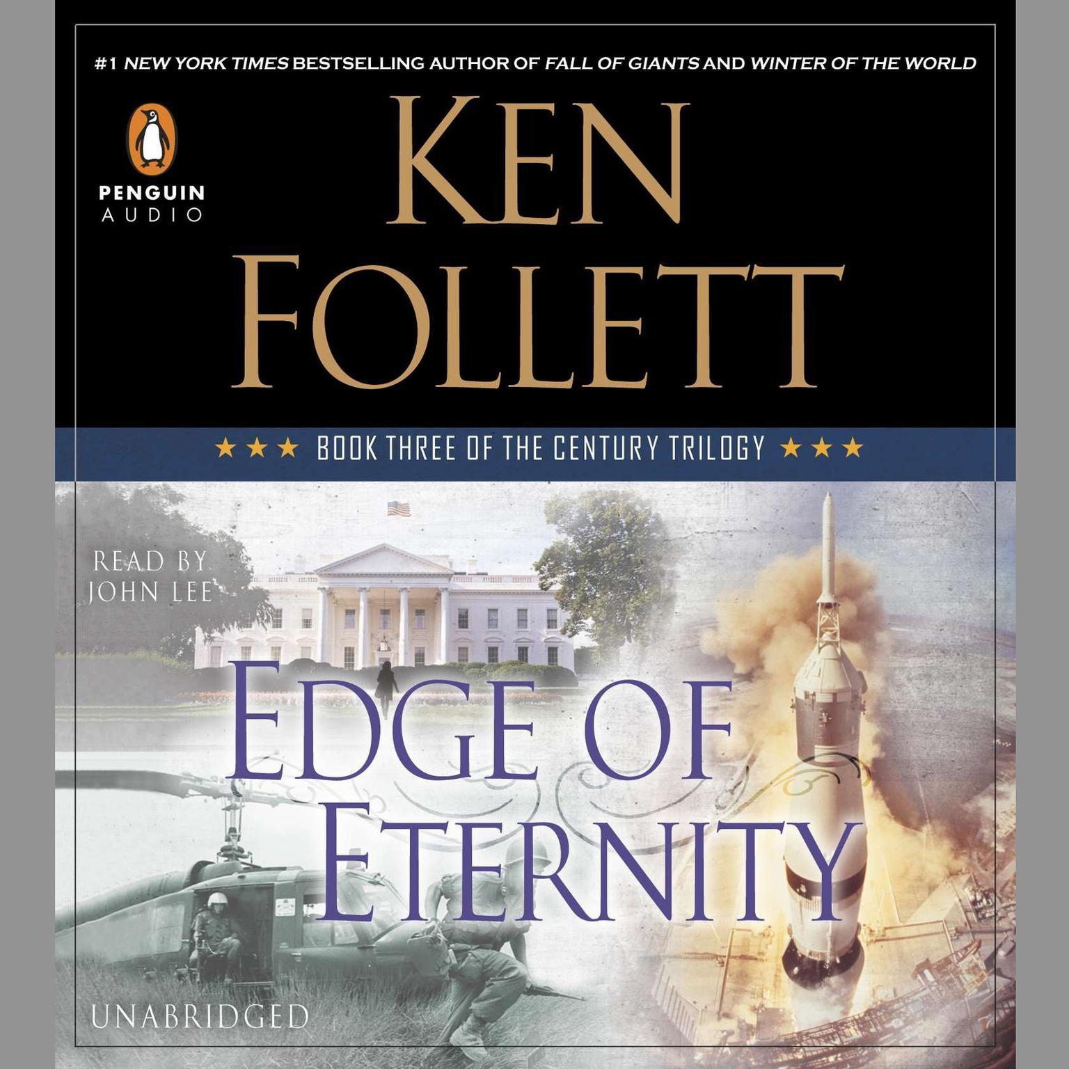 Printable Edge of Eternity: Book Three of The Century Trilogy Audiobook Cover Art