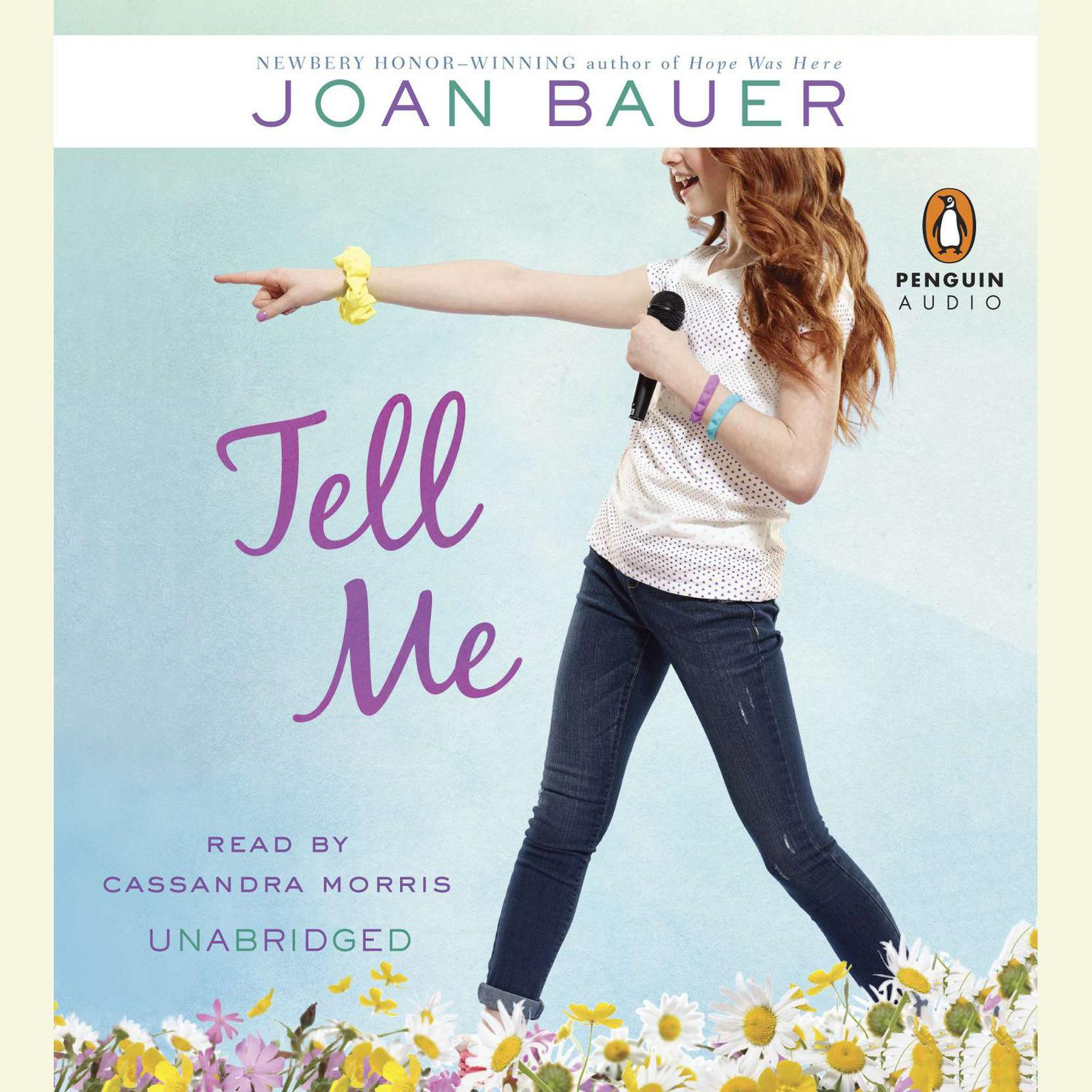 Printable Tell Me Audiobook Cover Art