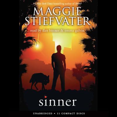 Sinner Audiobook, by Maggie Stiefvater