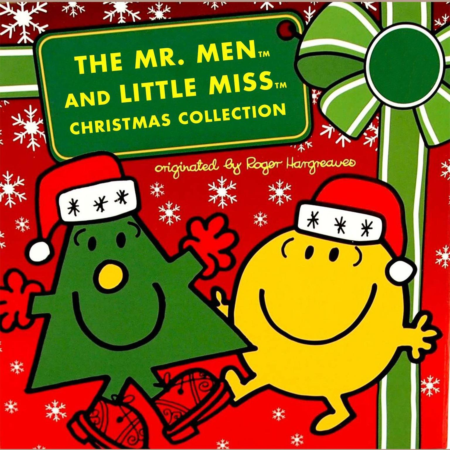 Printable The Mr. Men and Little Miss Christmas Collection: Mr. Men: 12 Days of Christmas; Mr. Men: A Christmas Carol; Mr. Men: The Night Before Christmas; Little Miss Christmas; Mr. Christmas Audiobook Cover Art