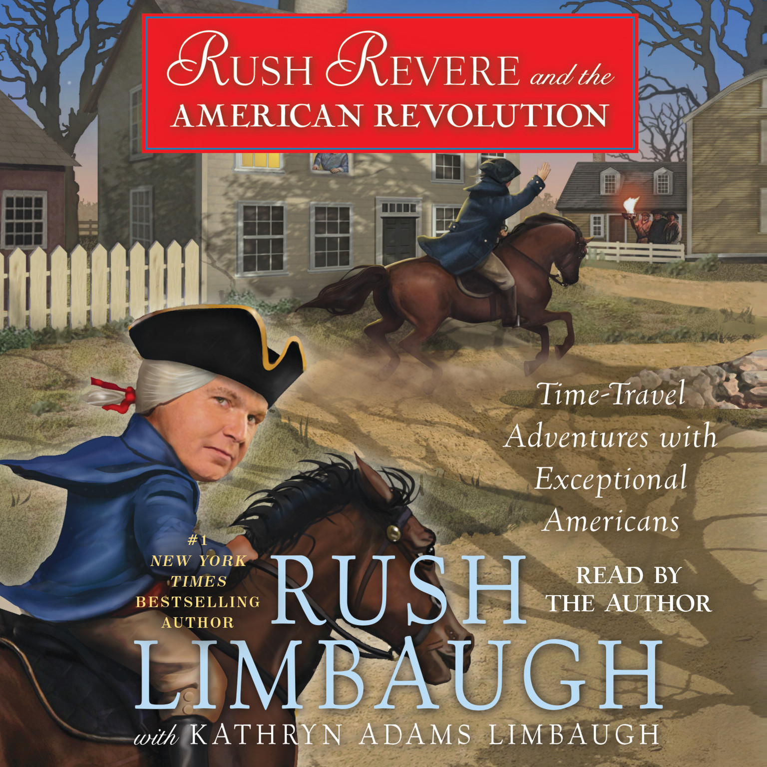 Printable Rush Revere and the American Revolution: Time-Travel Adventures With Exceptional Americans Audiobook Cover Art