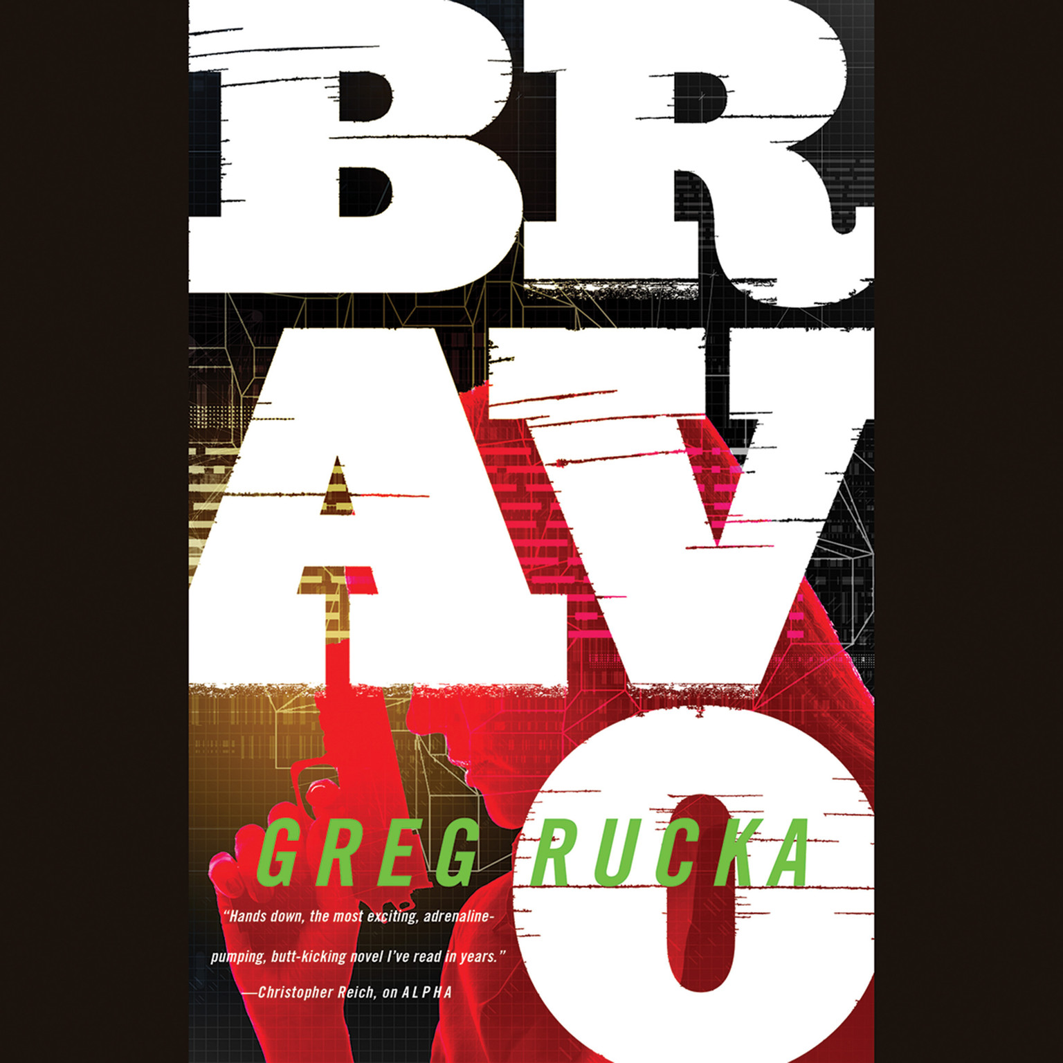 Printable Bravo Audiobook Cover Art