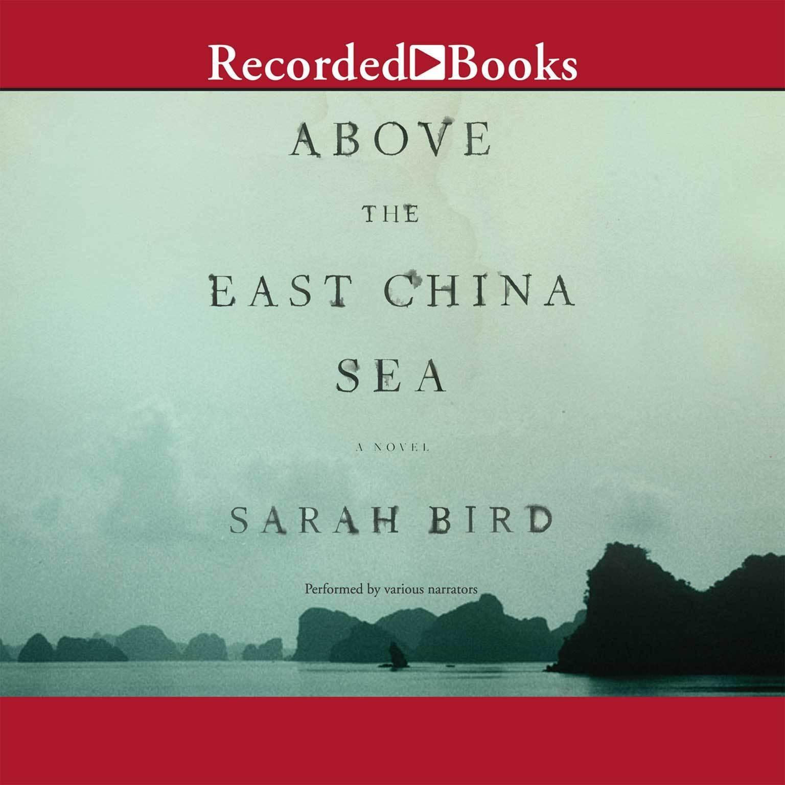 Printable Above the East China Sea Audiobook Cover Art
