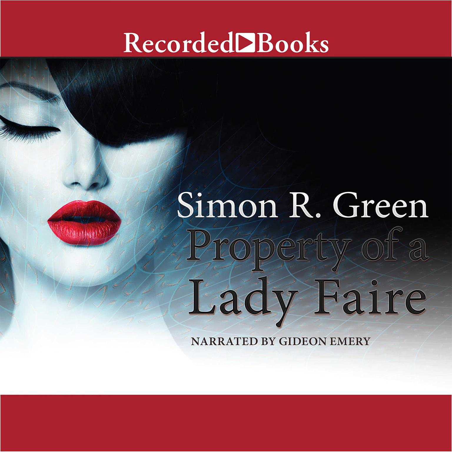 Printable Property of a Lady Faire Audiobook Cover Art