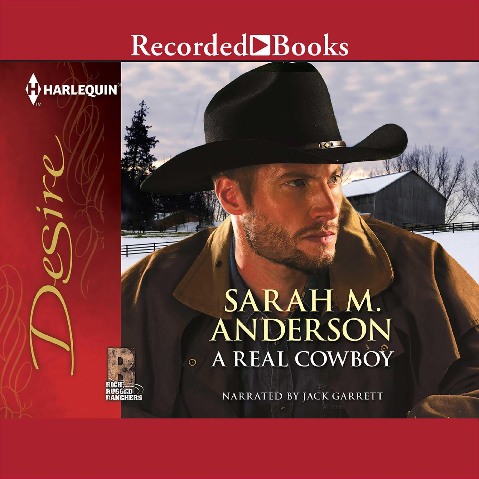 Printable A Real Cowboy Audiobook Cover Art