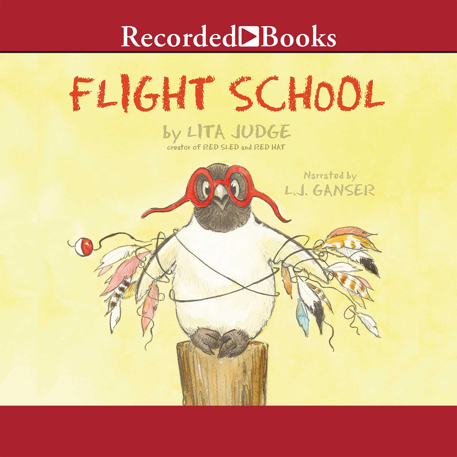 Printable Flight School Audiobook Cover Art