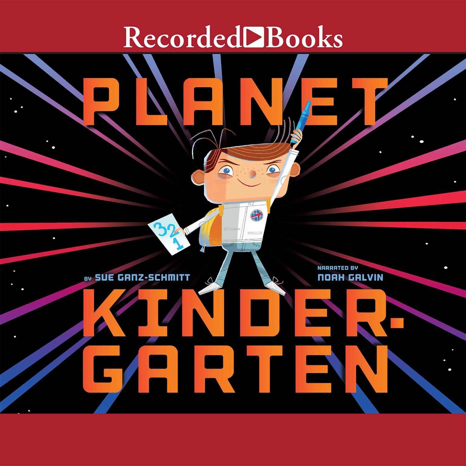 Printable Planet Kindergarten Audiobook Cover Art