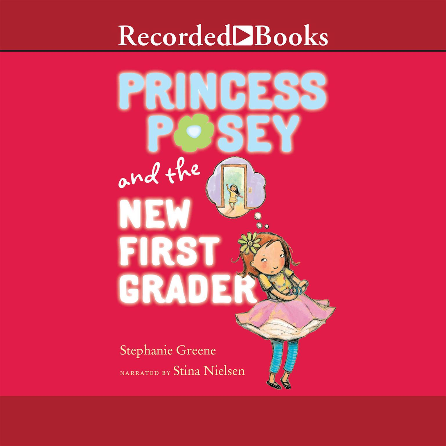 Printable Princess Posey and the New First Grader Audiobook Cover Art