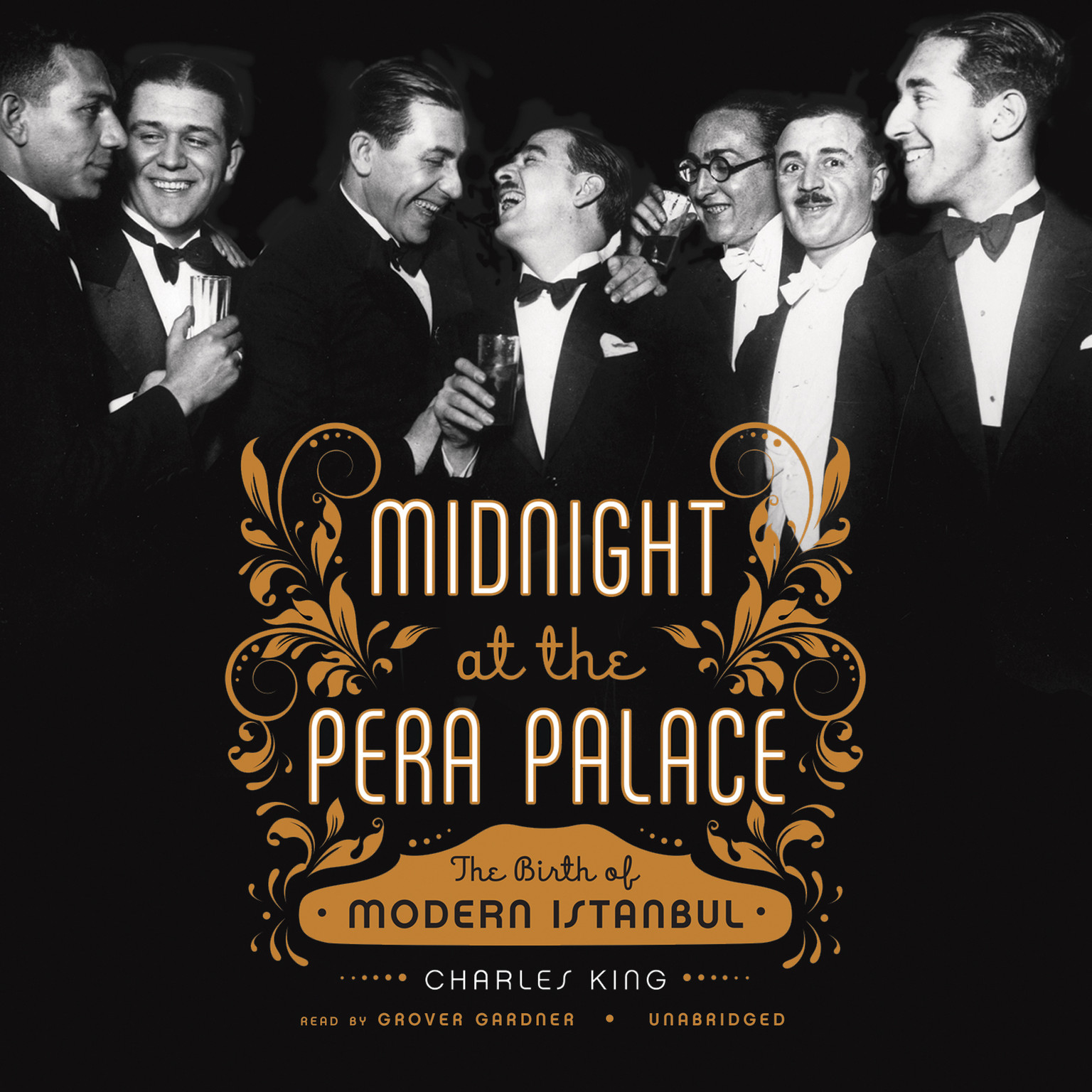 Printable Midnight at the Pera Palace: The Birth of Modern Istanbul Audiobook Cover Art