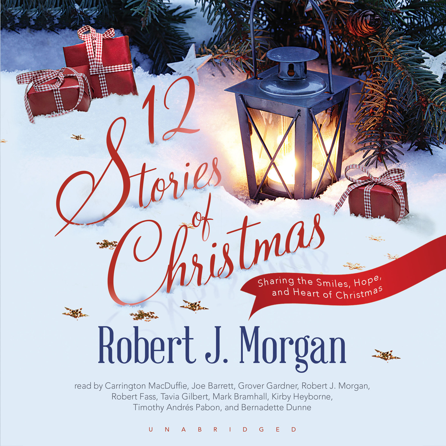 Printable 12 Stories of Christmas Audiobook Cover Art