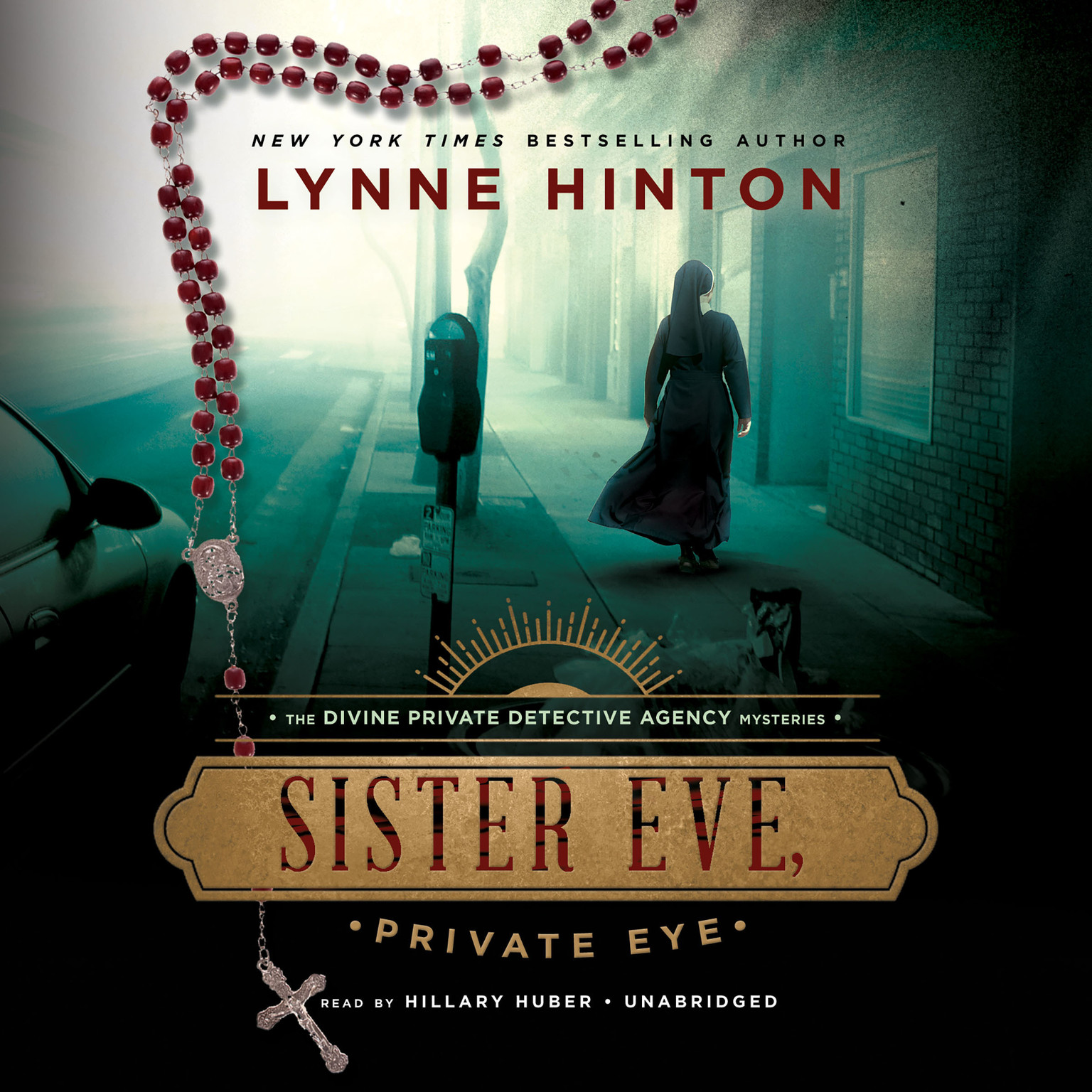 Printable Sister Eve, Private Eye Audiobook Cover Art