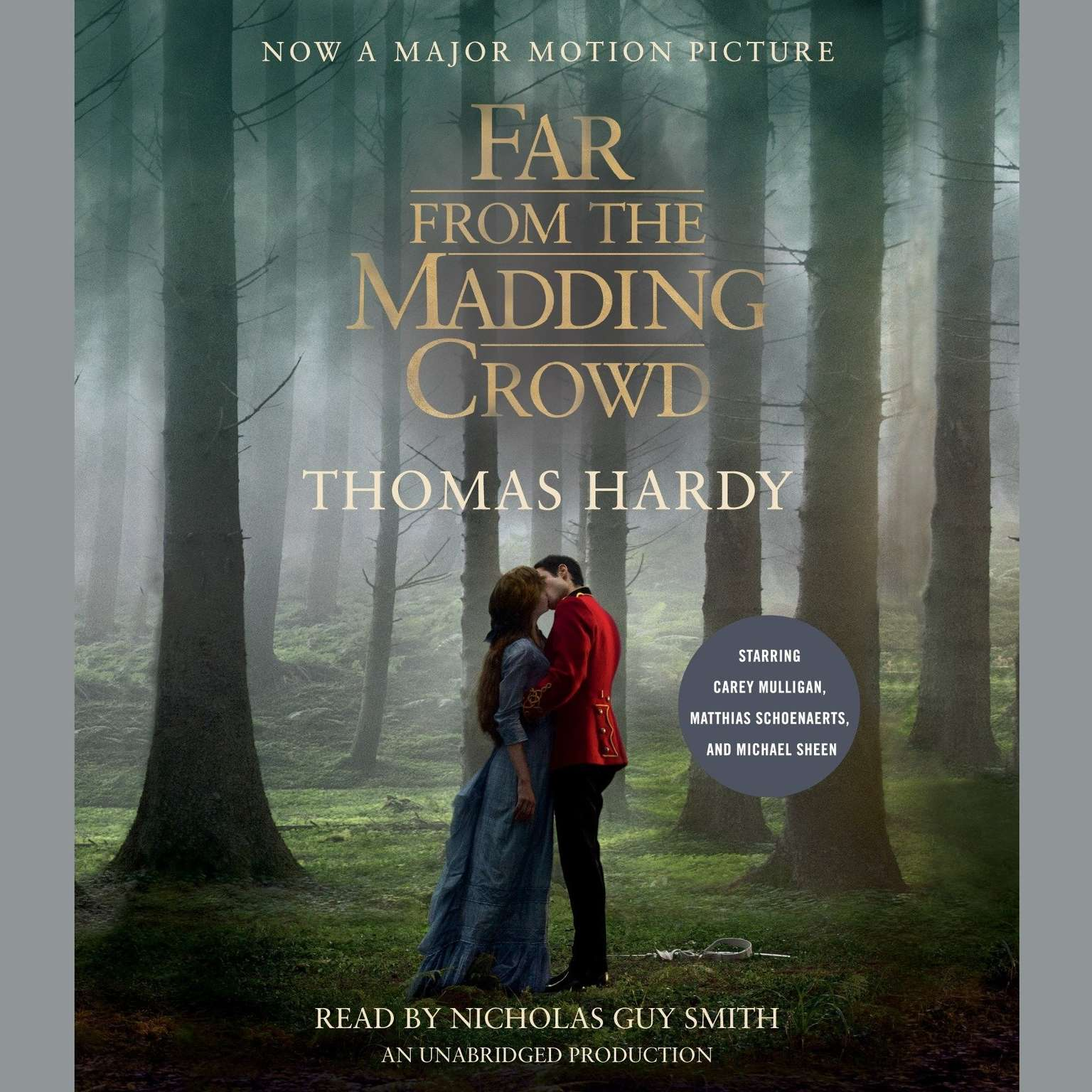 Printable Far from the Madding Crowd (Movie Tie-in Edition) Audiobook Cover Art