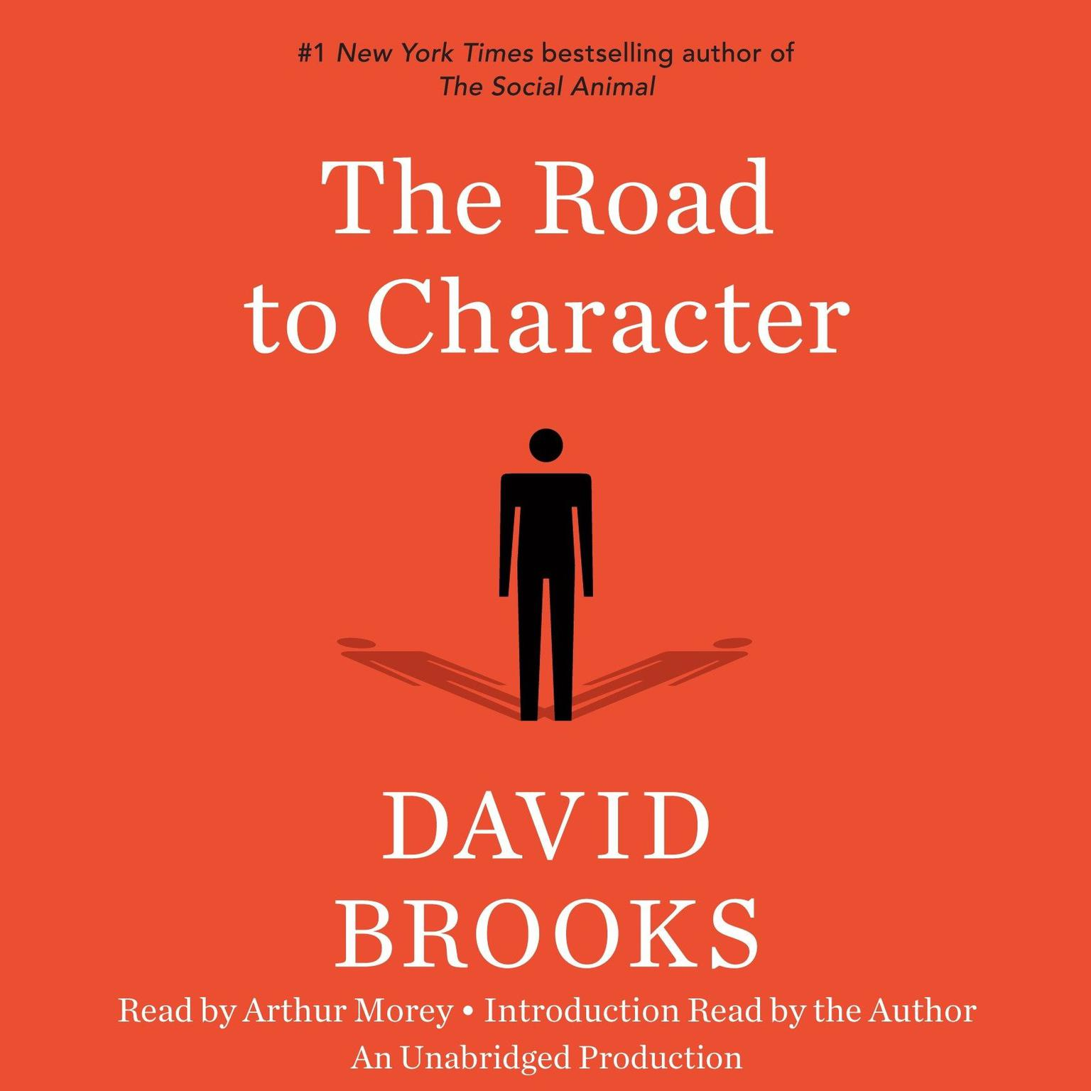 Printable The Road to Character Audiobook Cover Art