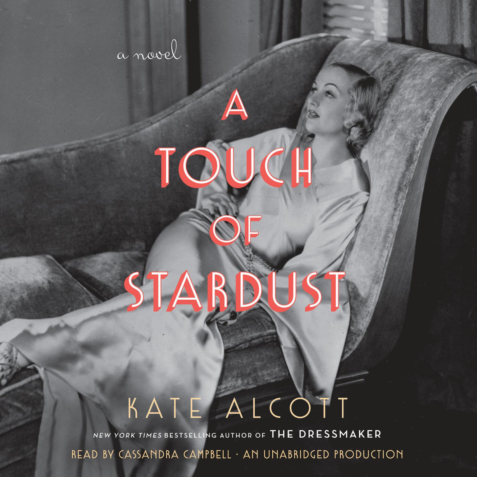 Printable A Touch of Stardust: A Novel Audiobook Cover Art