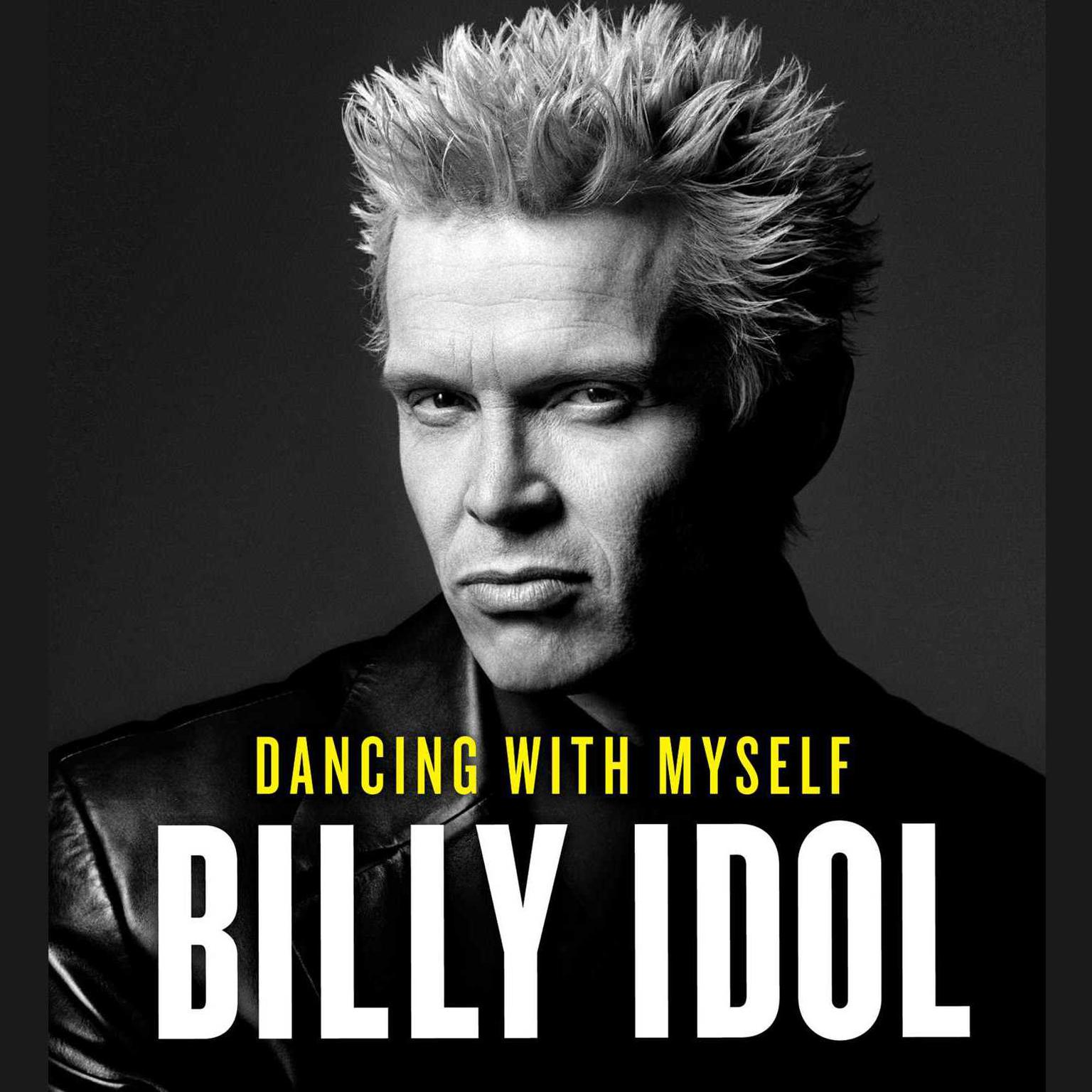 Printable Dancing with Myself Audiobook Cover Art