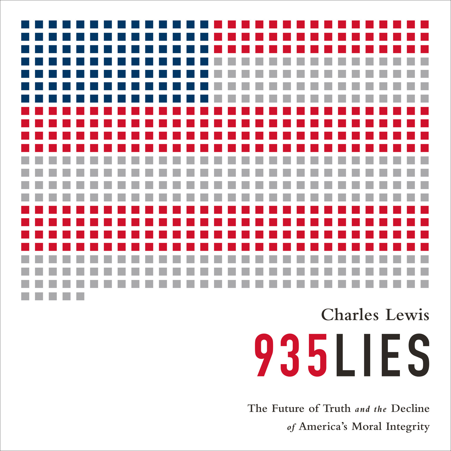 Printable 935 Lies: The Future of Truth and the Decline of America's Moral Integrity Audiobook Cover Art