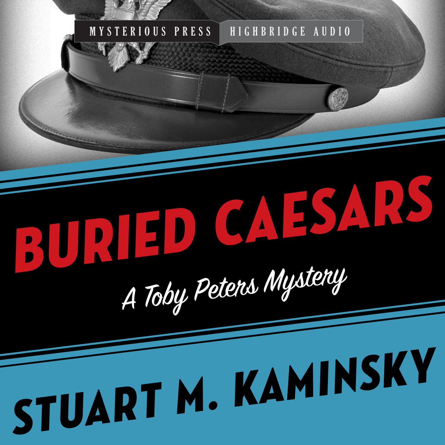 Printable Buried Caesars: A Toby Peters Mystery Audiobook Cover Art