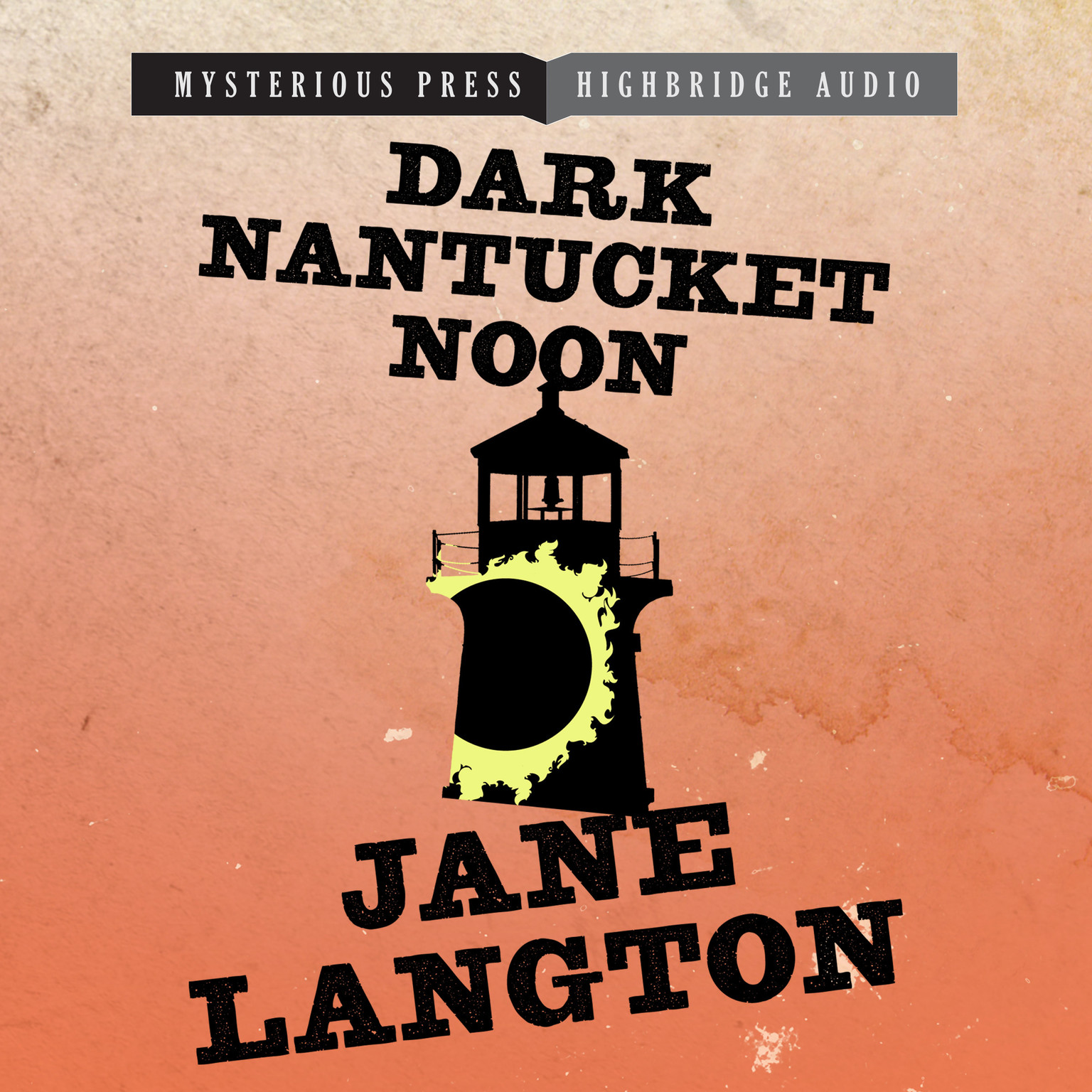 Printable Dark Nantucket Noon: A Homer Kelly Mystery Audiobook Cover Art