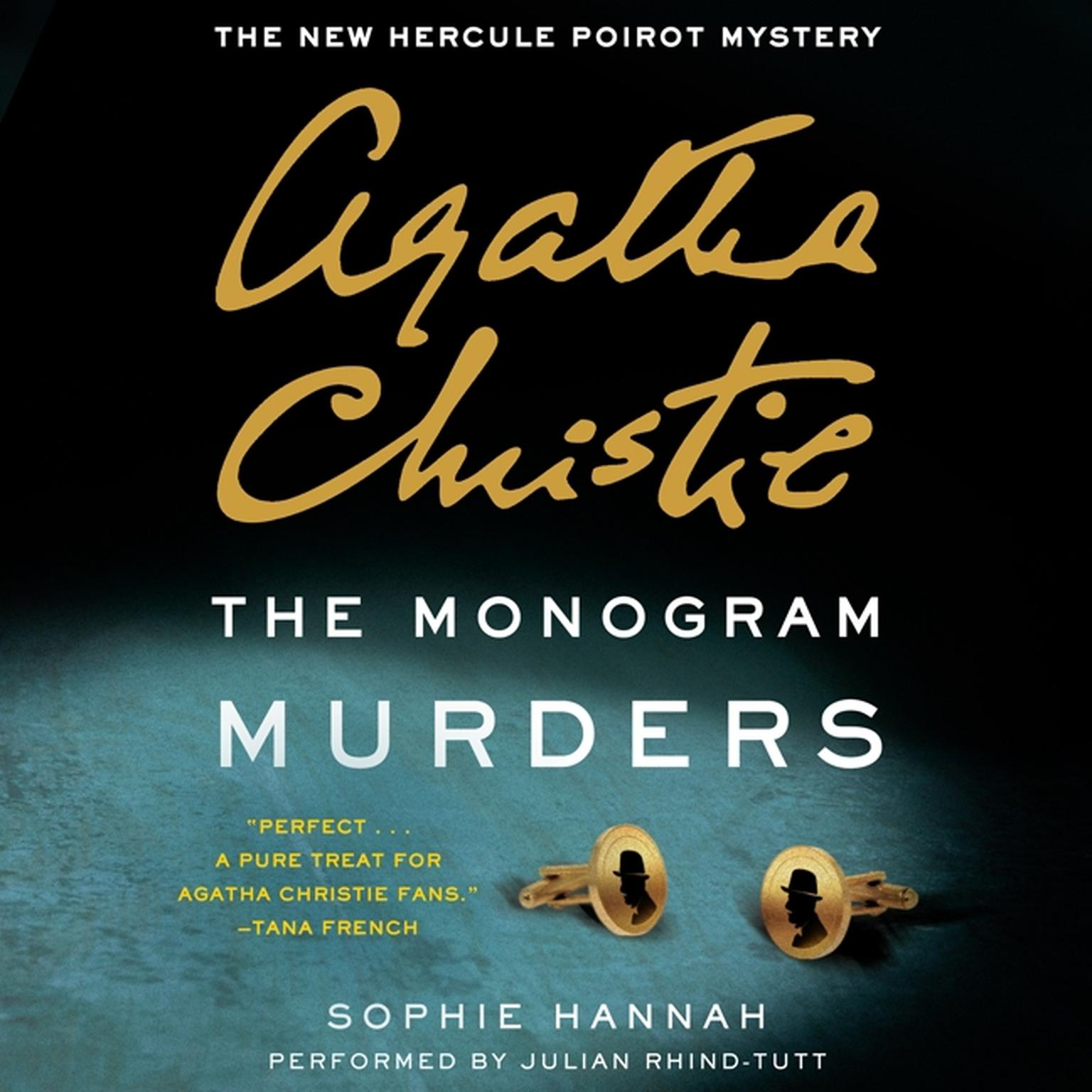 Printable The Monogram Murders: The New Hercule Poirot Mystery Audiobook Cover Art