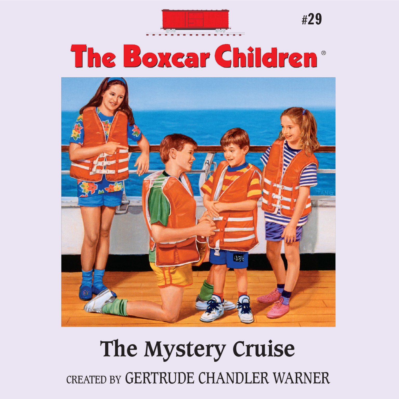 Printable The Mystery Cruise Audiobook Cover Art
