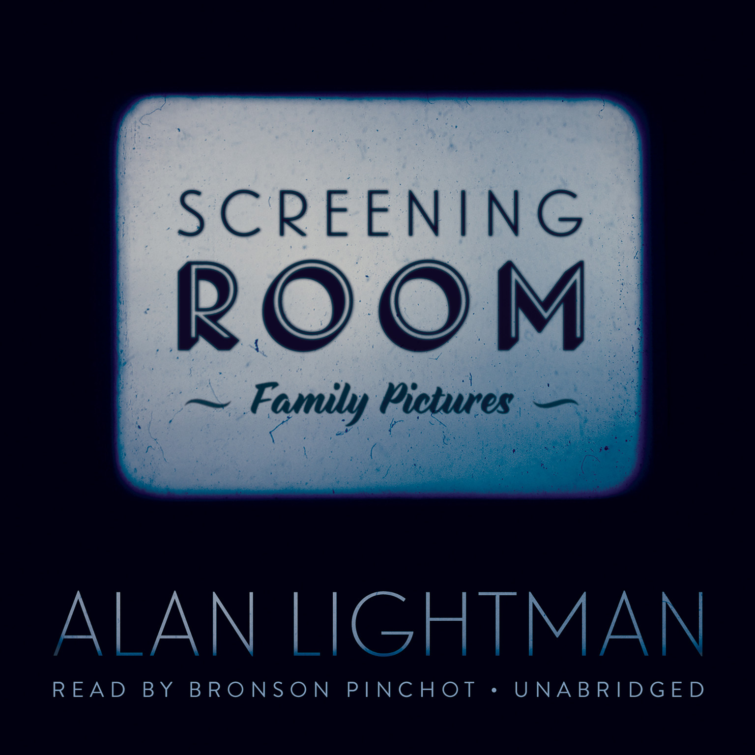 Printable Screening Room: Family Pictures Audiobook Cover Art