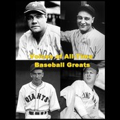 Voices of All-Time Baseball Greats, by Babe Ruth, Lou Gehrig, Carl Hubbell