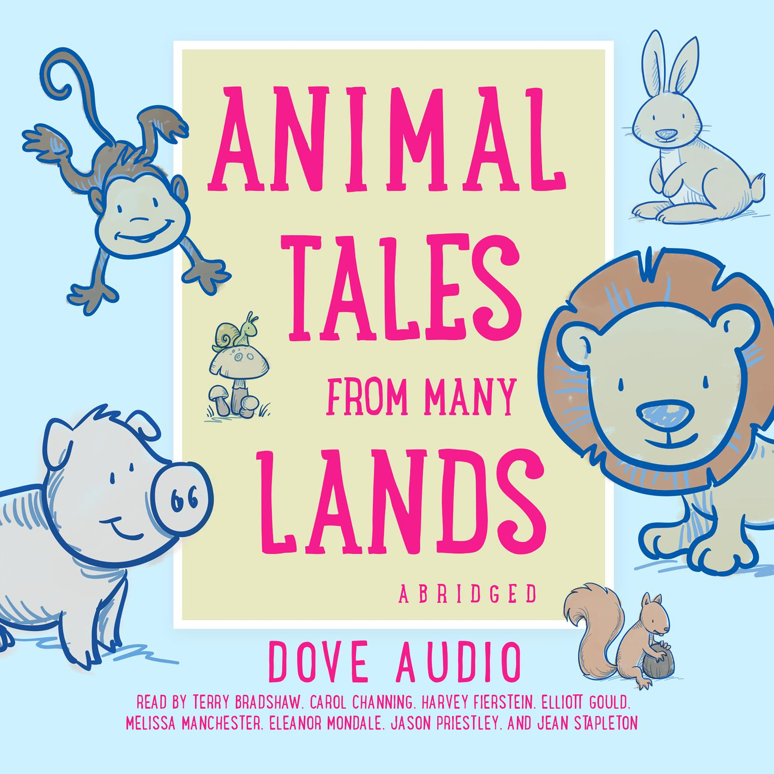 Printable Animal Tales from Many Lands Audiobook Cover Art