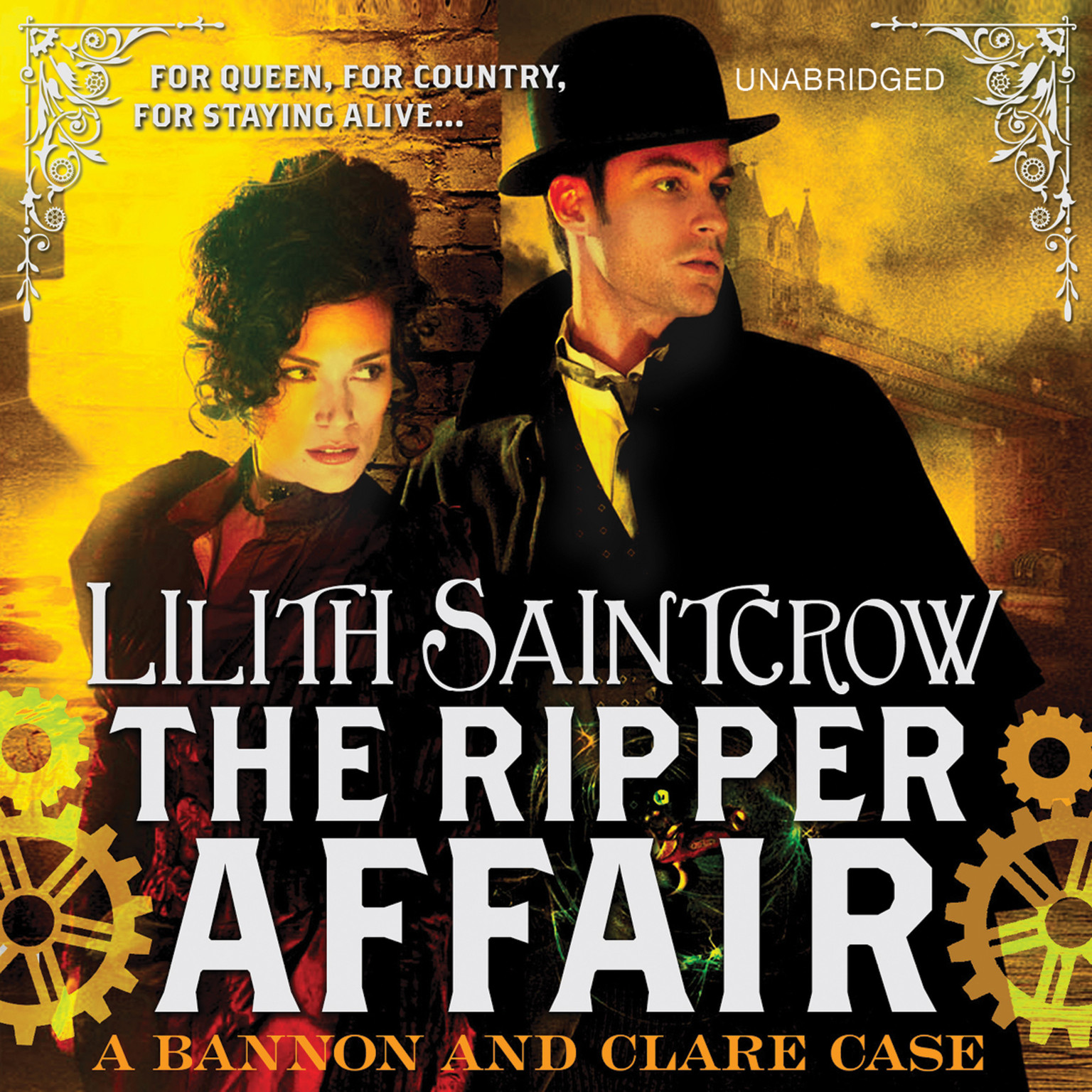 Printable The Ripper Affair Audiobook Cover Art