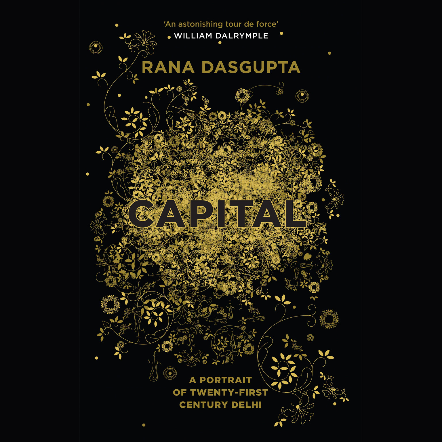 Printable Capital: The Eruption of Delhi Audiobook Cover Art