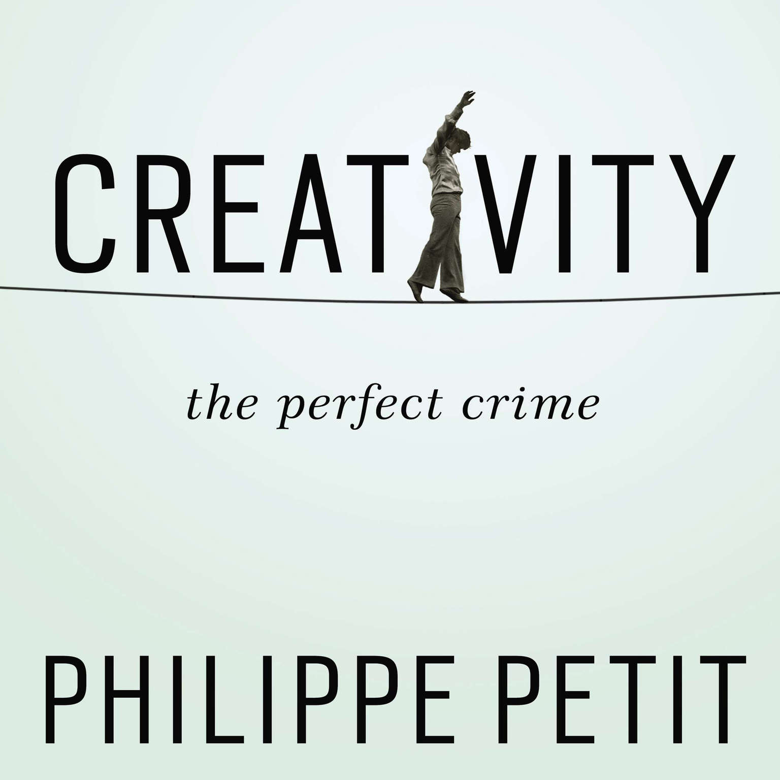 Printable Creativity: The Perfect Crime Audiobook Cover Art