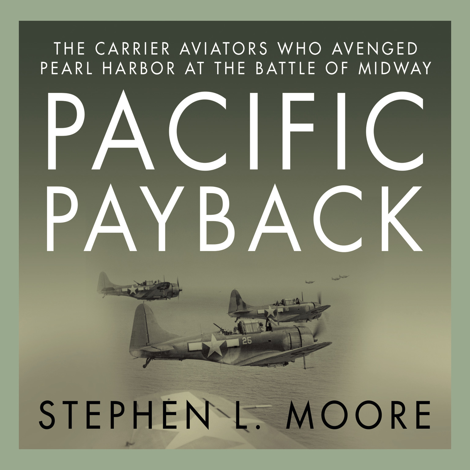 Printable Pacific Payback: The Carrier Aviators Who Avenged Pearl Harbor at the Battle of Midway Audiobook Cover Art
