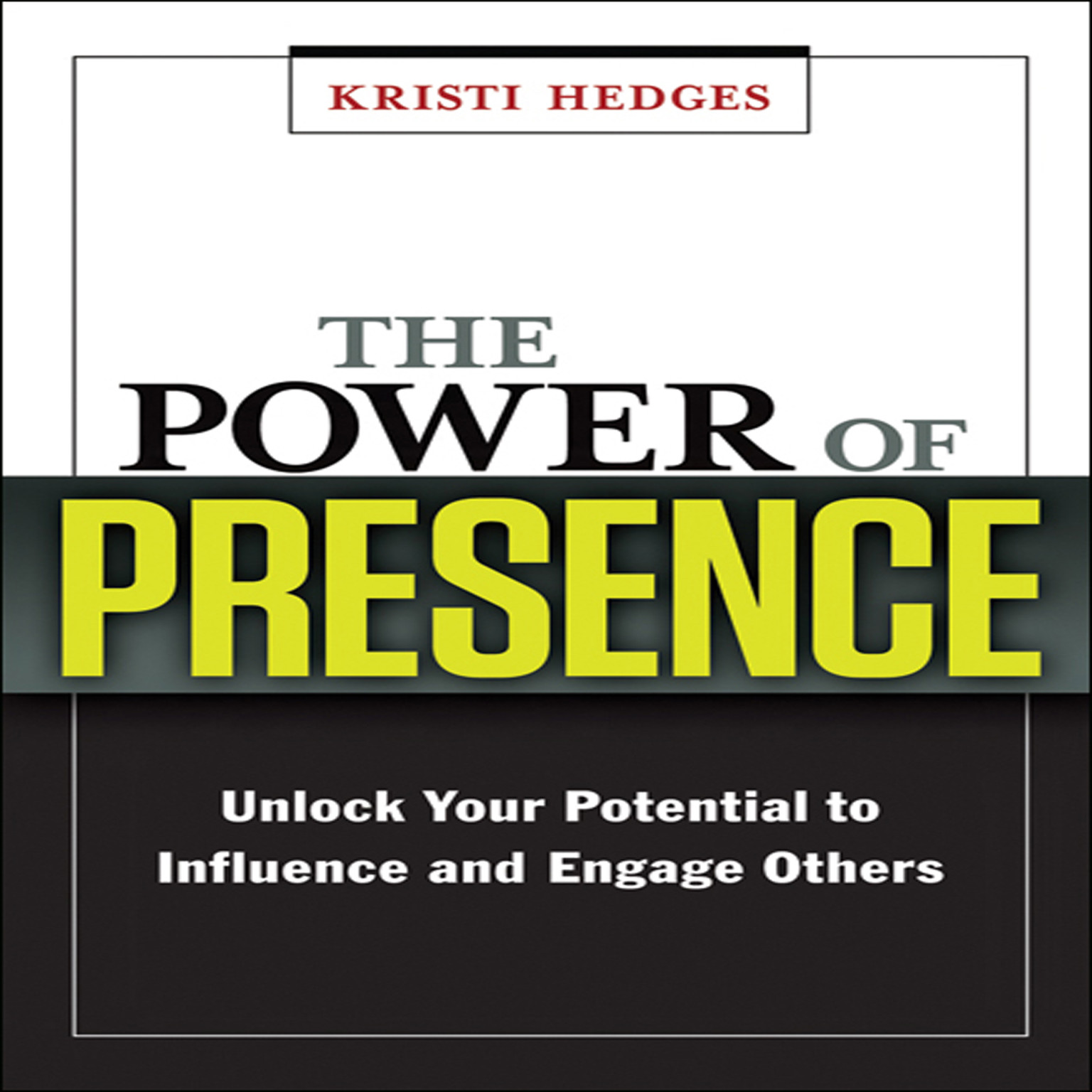 Printable The Power Presence: Unlock Your Potential to Influence and Engage Others Audiobook Cover Art