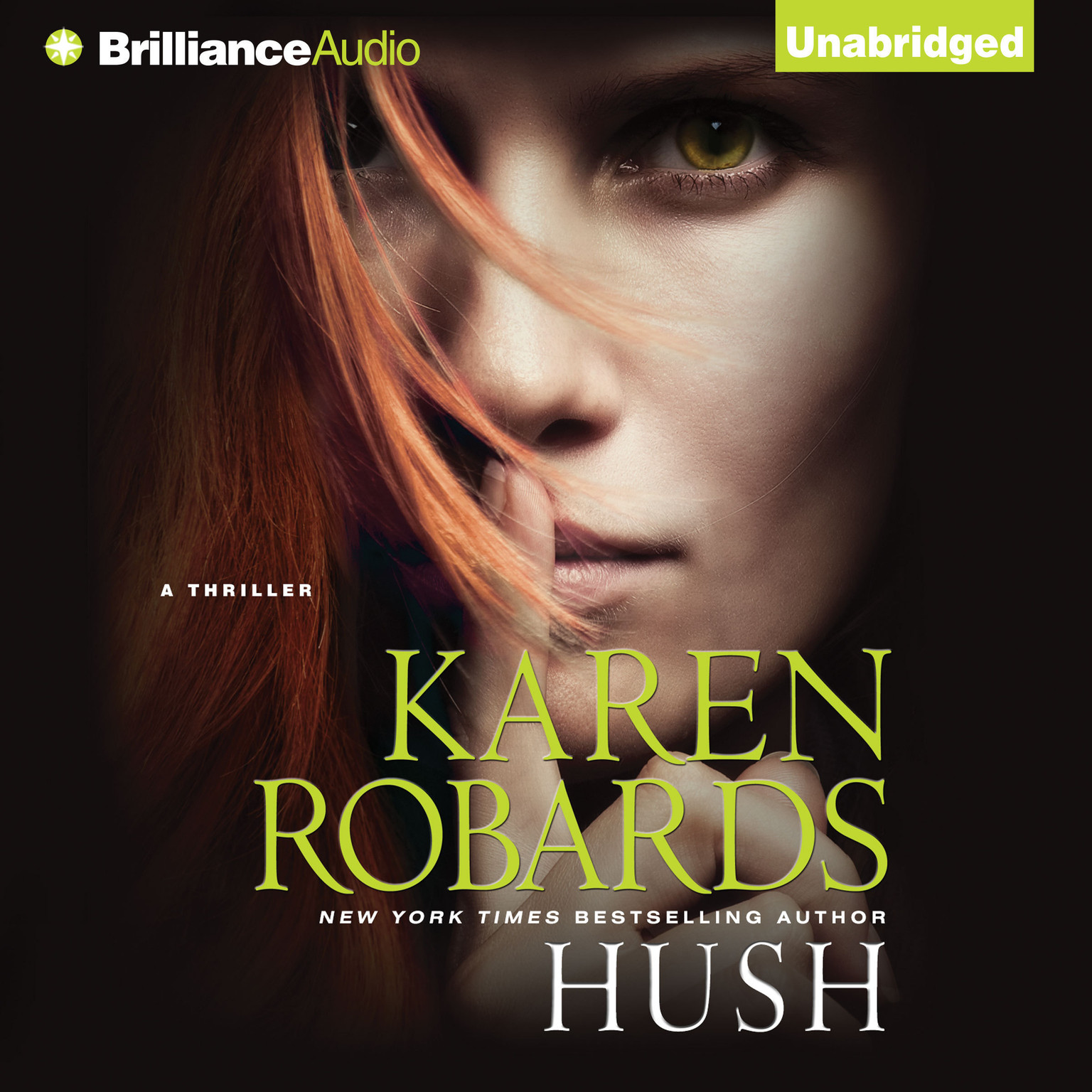 Printable Hush Audiobook Cover Art