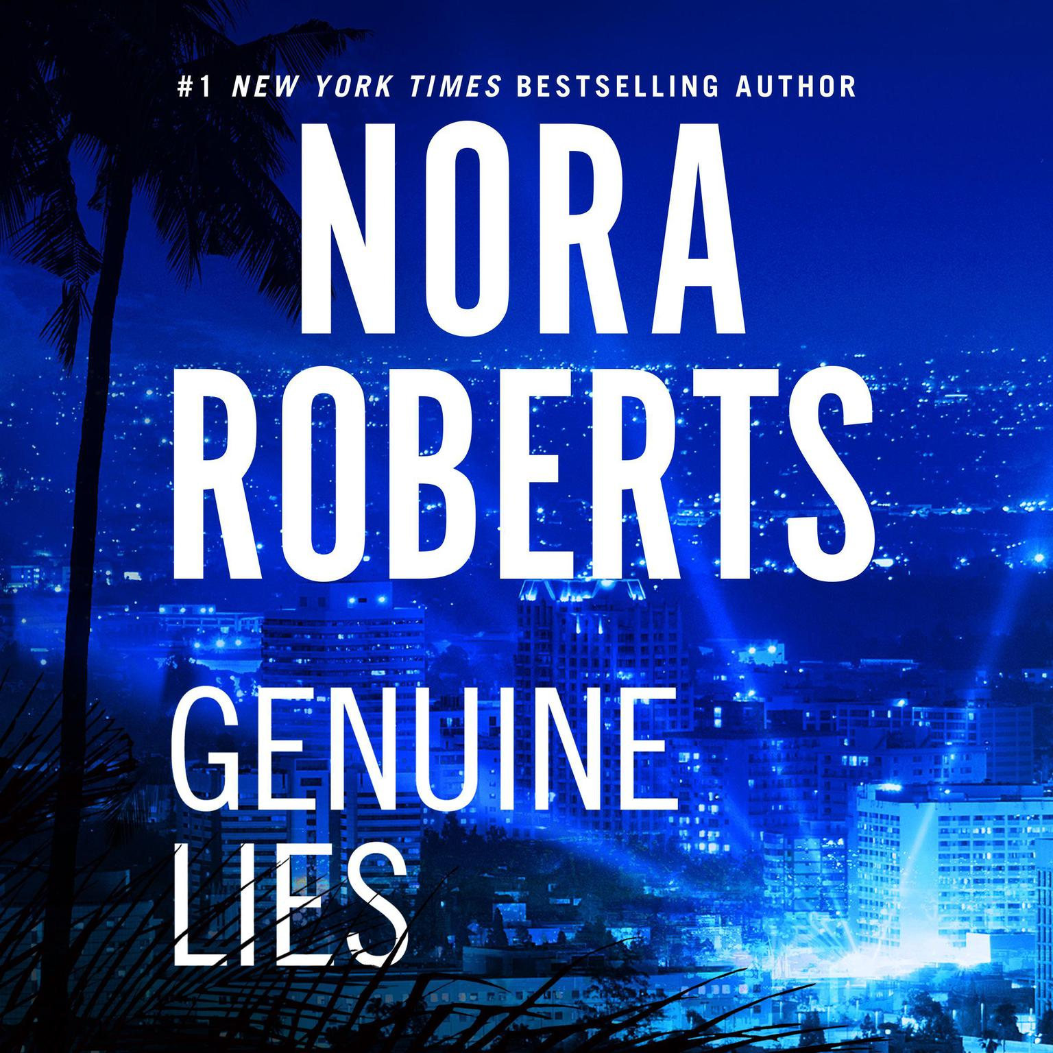 Printable Genuine Lies Audiobook Cover Art