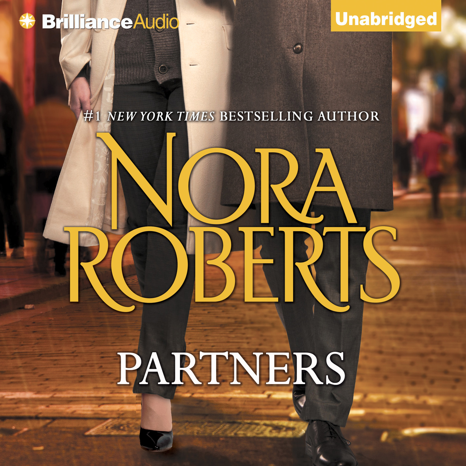 Printable Partners Audiobook Cover Art