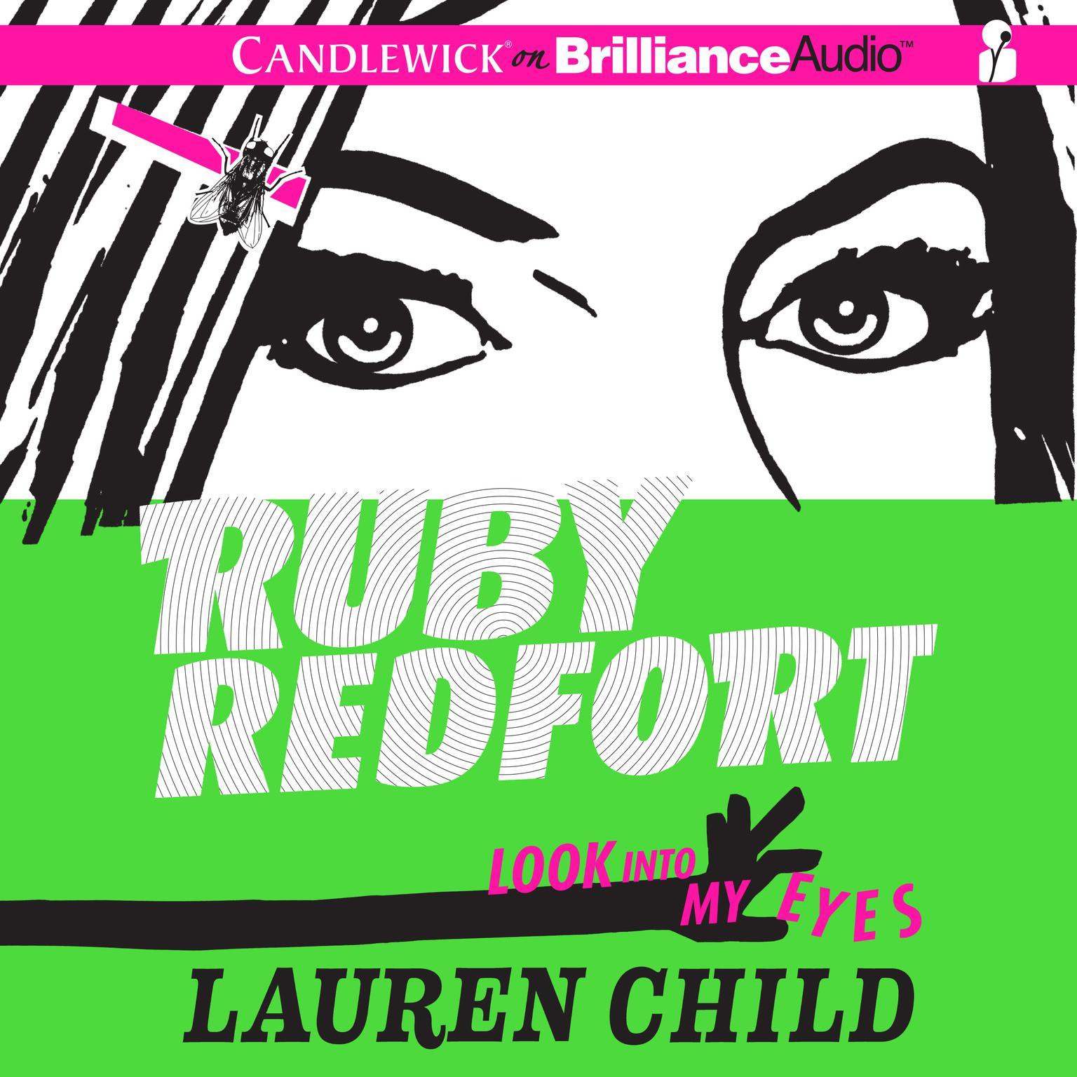 Printable Ruby Redfort Look into My Eyes Audiobook Cover Art
