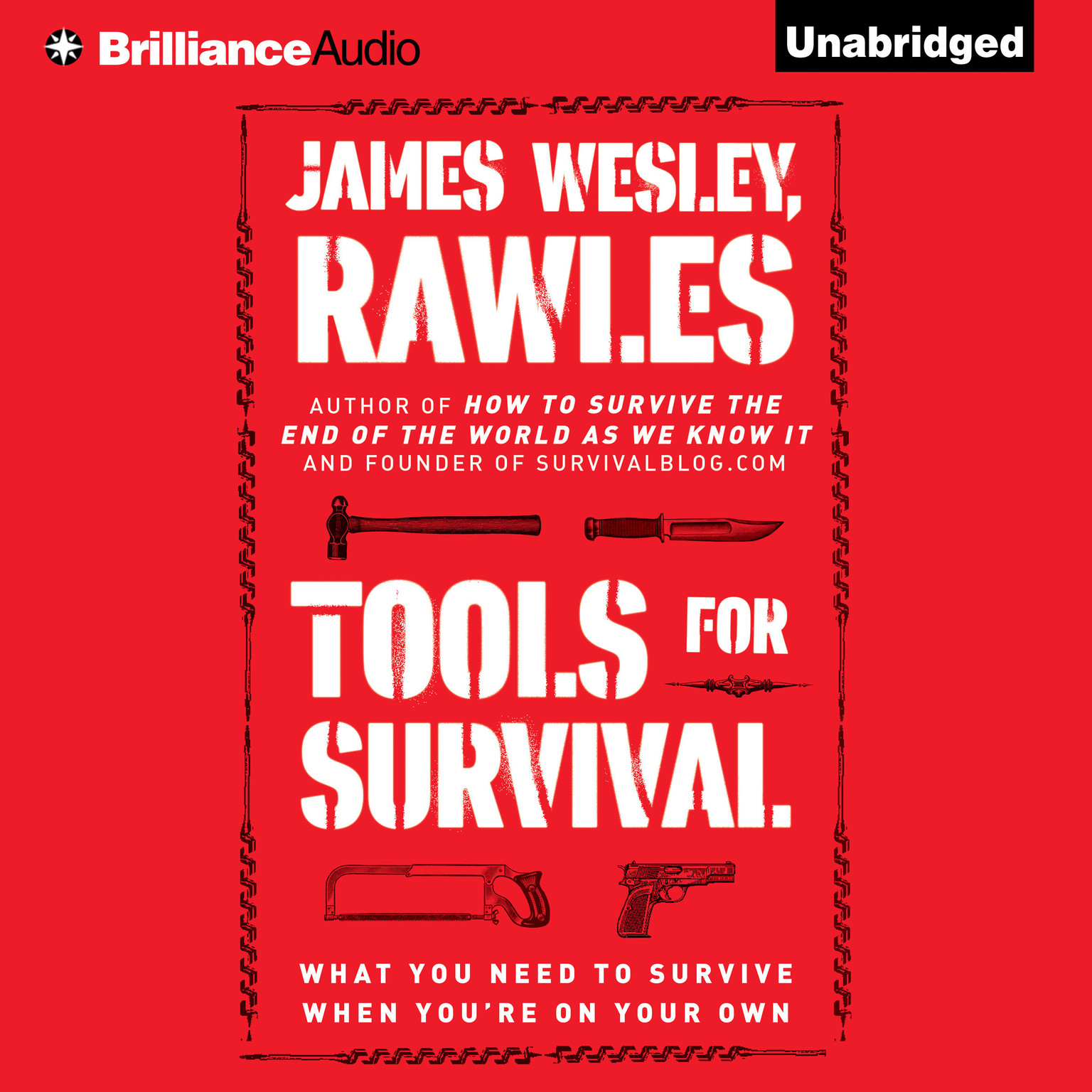 Printable Tools for Survival: What You Need to Survive When You're on Your Own Audiobook Cover Art