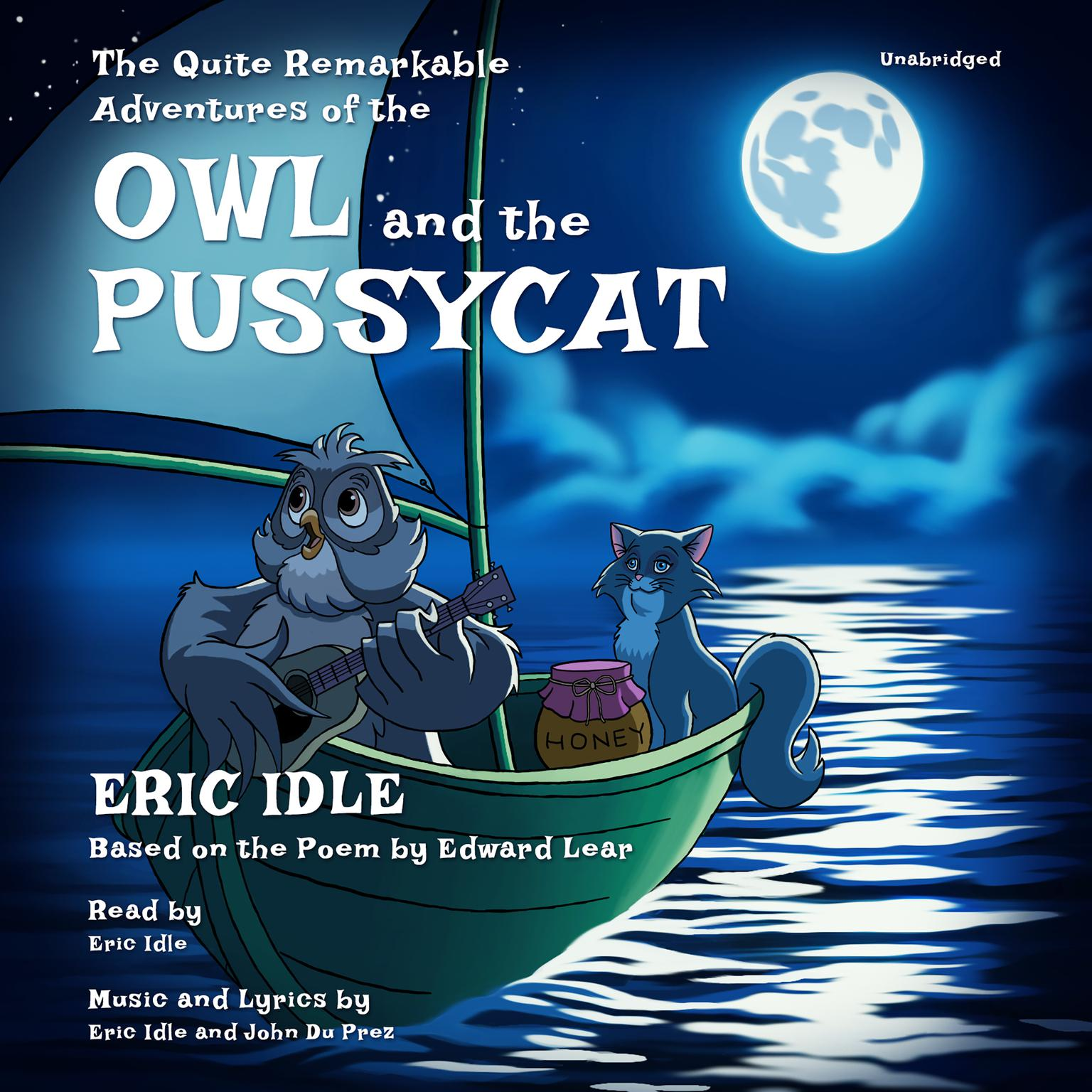 Printable The Quite Remarkable Adventures of the Owl and the Pussycat Audiobook Cover Art